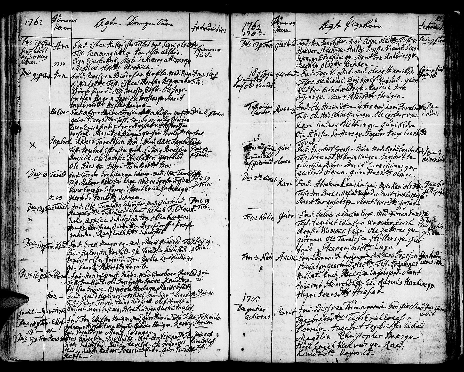 SAT, Ministerialprotokoller, klokkerbøker og fødselsregistre - Sør-Trøndelag, 678/L0891: Ministerialbok nr. 678A01, 1739-1780, s. 115