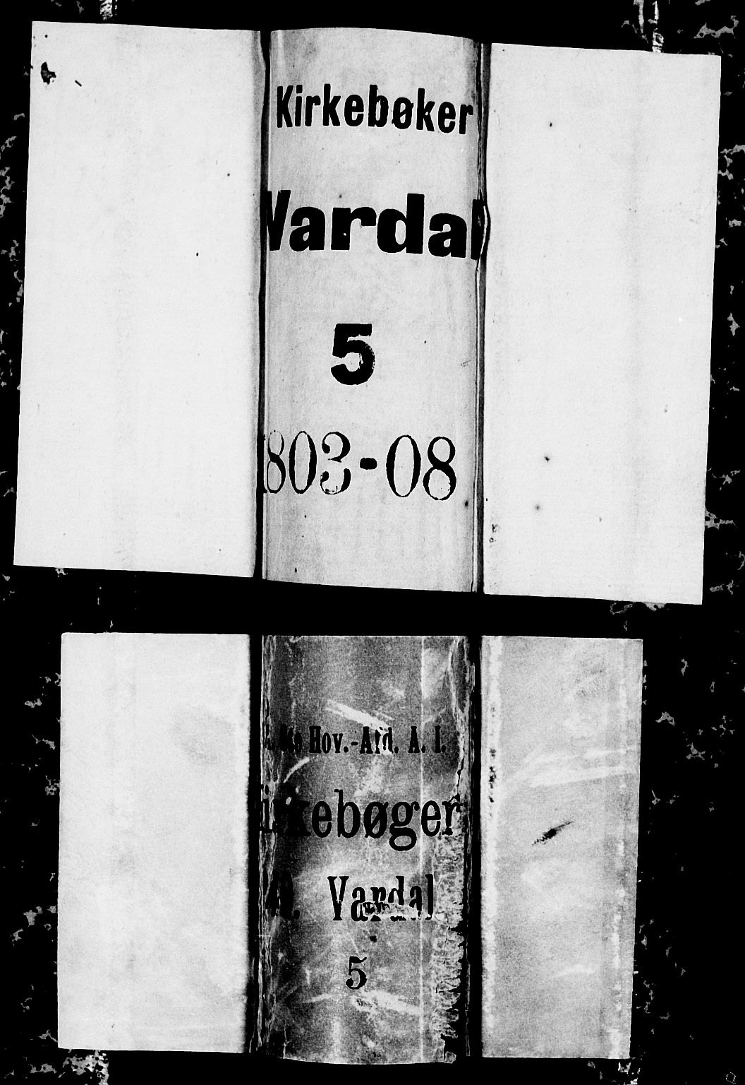SAH, Vardal prestekontor, H/Ha/Hab/L0003: Klokkerbok nr. 3, 1803-1808