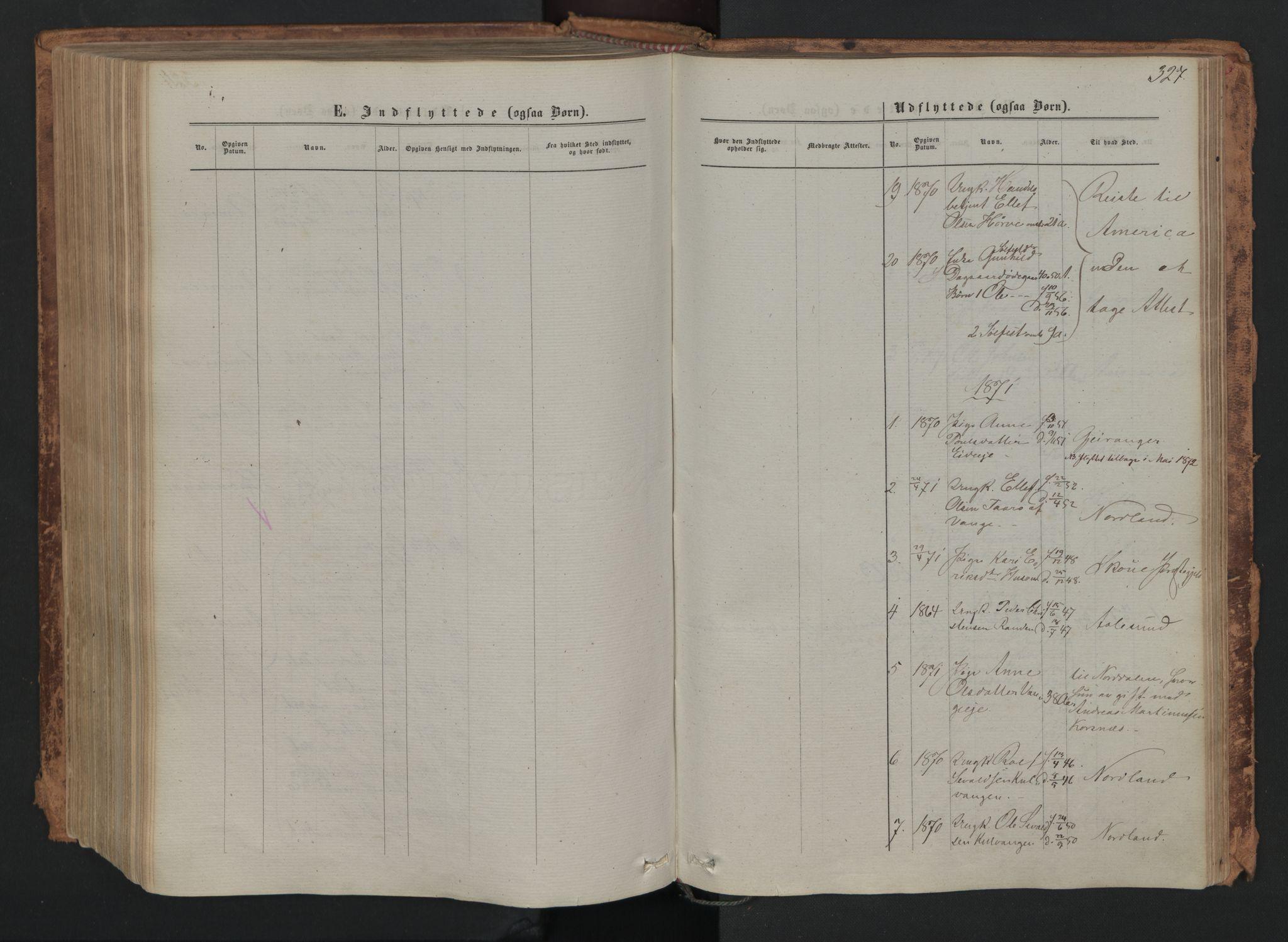 SAH, Skjåk prestekontor, Ministerialbok nr. 1, 1863-1879, s. 327