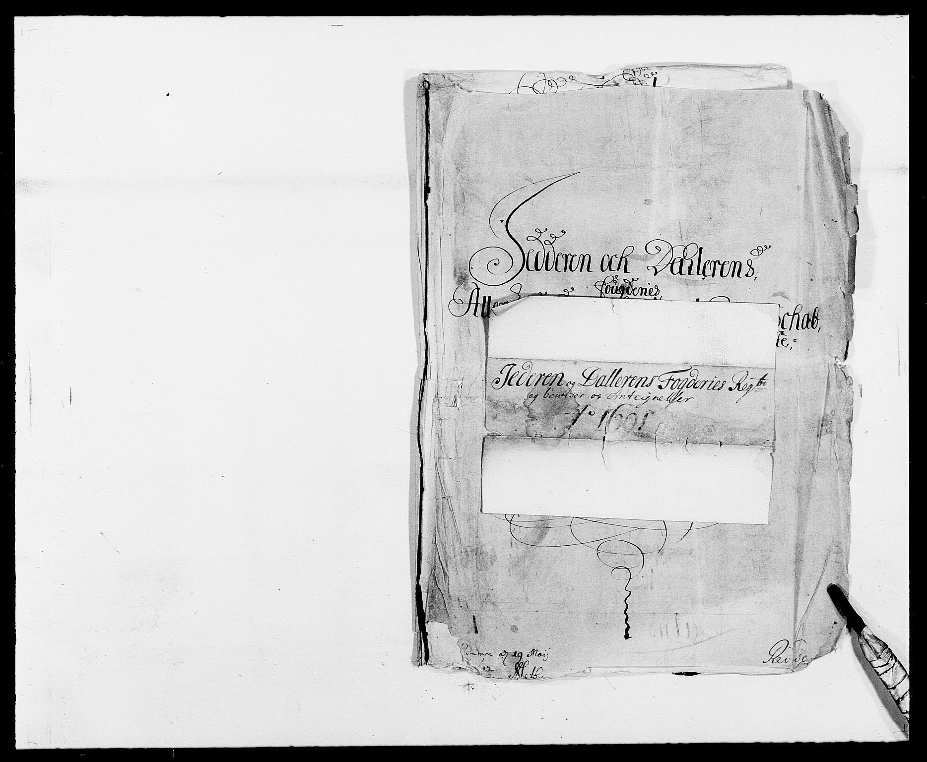 RA, Rentekammeret inntil 1814, Reviderte regnskaper, Fogderegnskap, R46/L2727: Fogderegnskap Jæren og Dalane, 1690-1693, s. 72