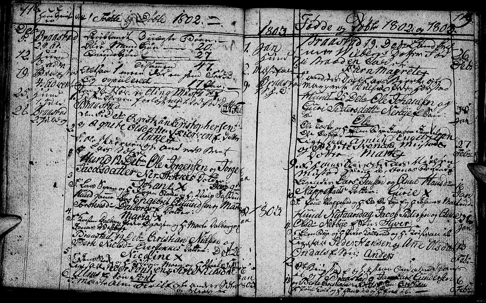 SAH, Vardal prestekontor, H/Ha/Hab/L0002: Klokkerbok nr. 2, 1790-1803, s. 118-119