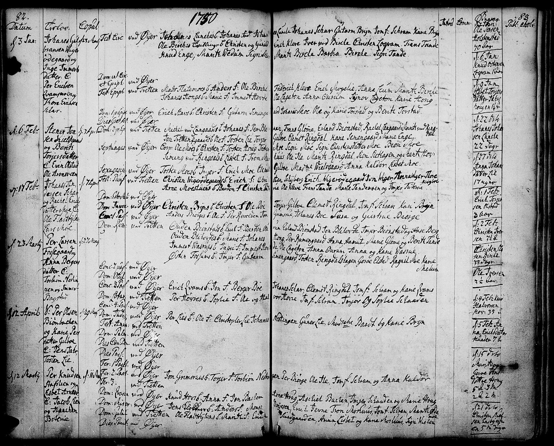SAH, Øyer prestekontor, Ministerialbok nr. 2, 1733-1784, s. 80-81