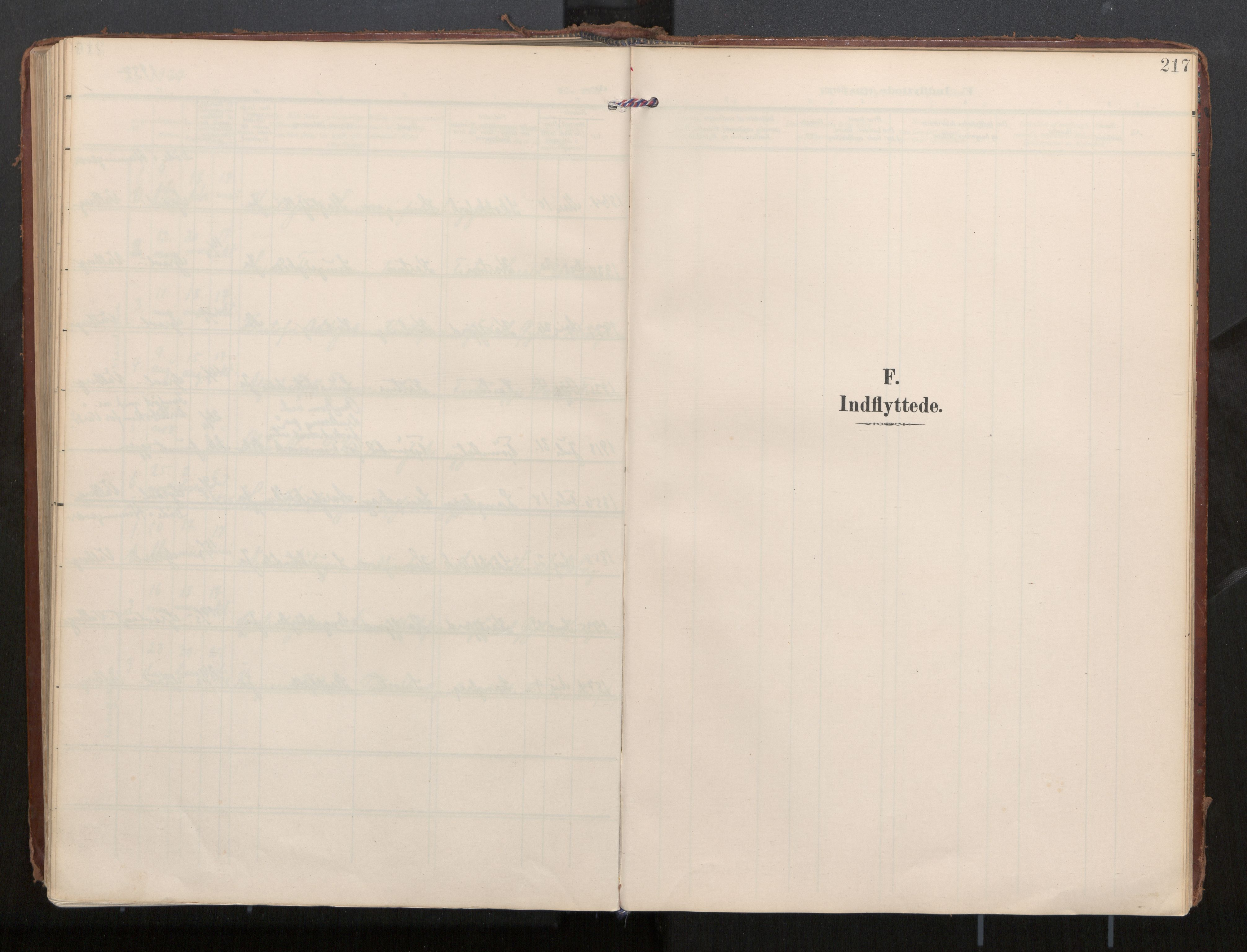 SAT, Ministerialprotokoller, klokkerbøker og fødselsregistre - Nordland, 884/L1194: Ministerialbok nr. 884A02, 1906-1937, s. 217