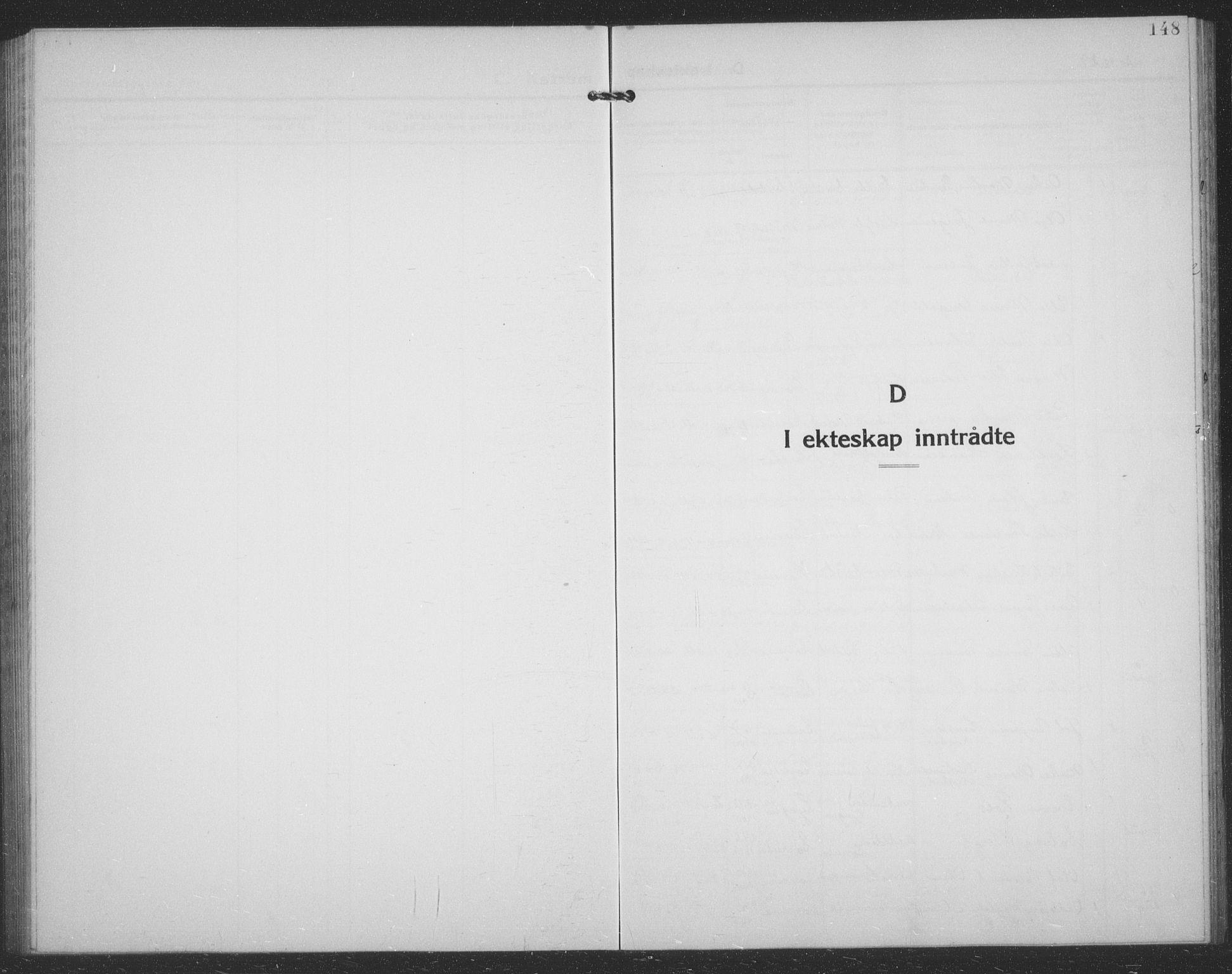 SATØ, Tranøy sokneprestkontor, I/Ia/Iab/L0024klokker: Klokkerbok nr. 24, 1929-1943, s. 148