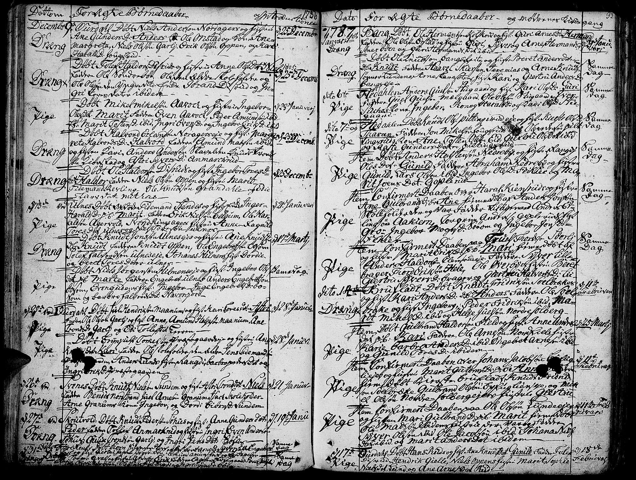 SAH, Aurdal prestekontor, Ministerialbok nr. 6, 1781-1804, s. 33