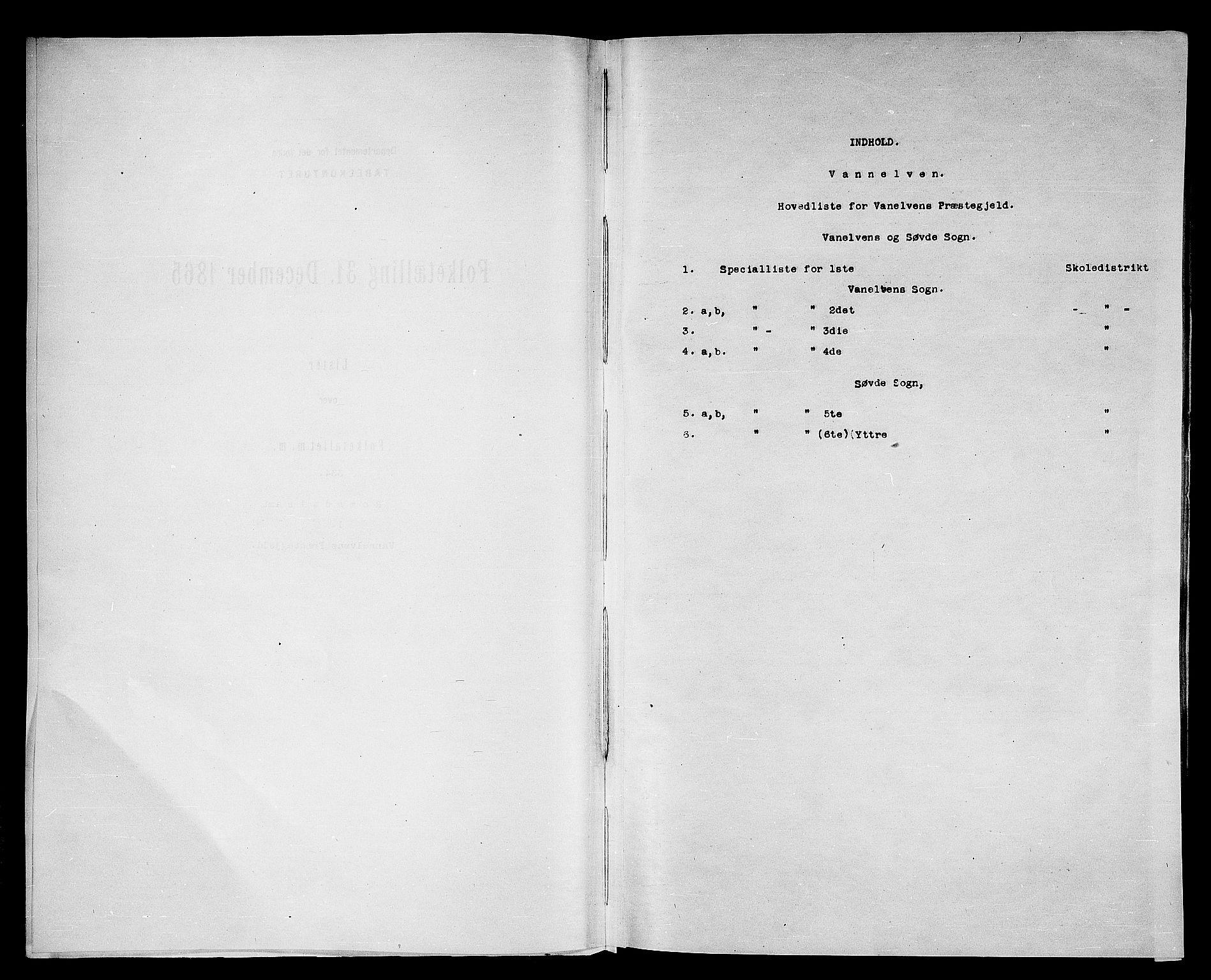 RA, Folketelling 1865 for 1511P Vanylven prestegjeld, 1865, s. 4