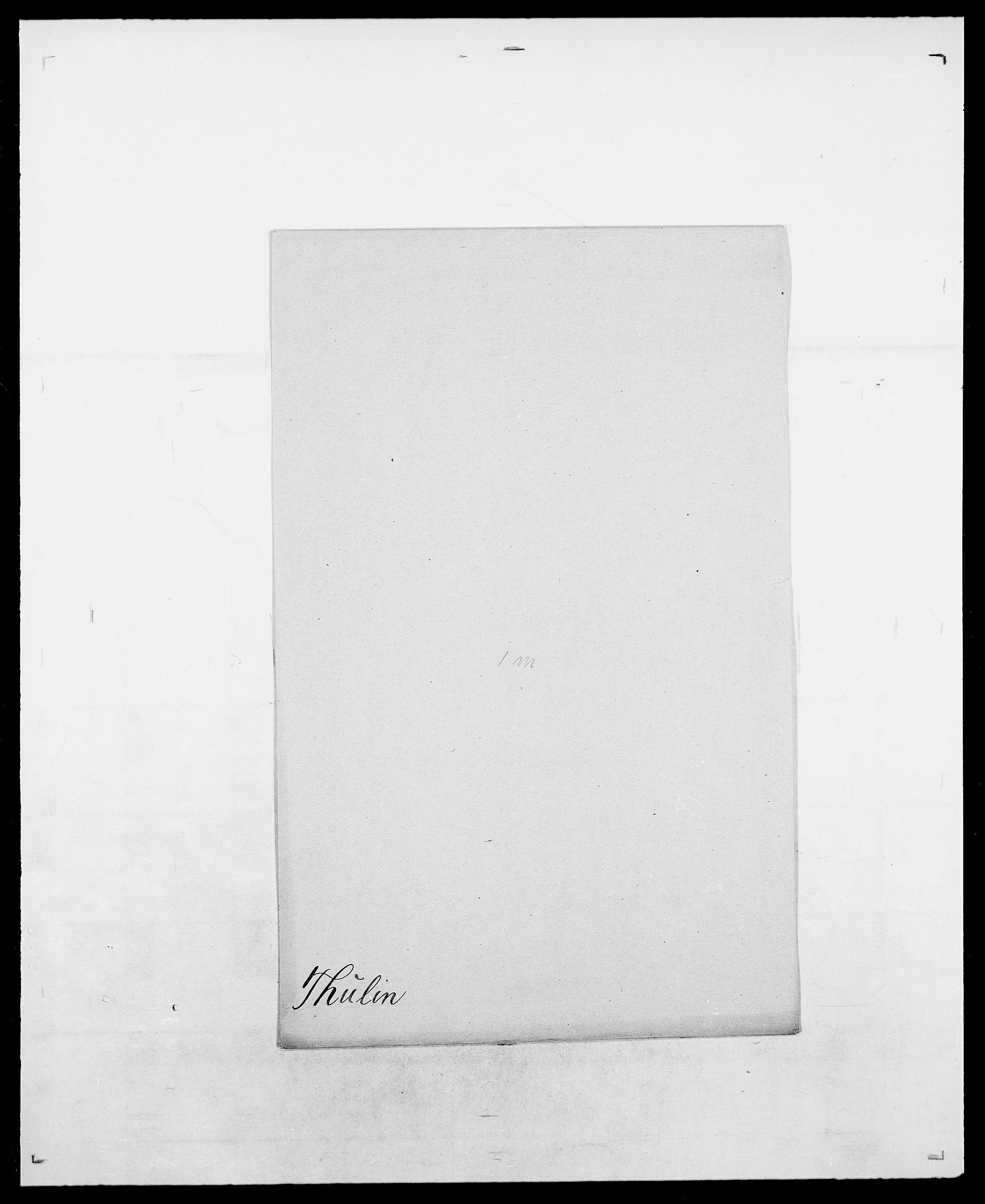 SAO, Delgobe, Charles Antoine - samling, D/Da/L0038: Svanenskjold - Thornsohn, s. 1021