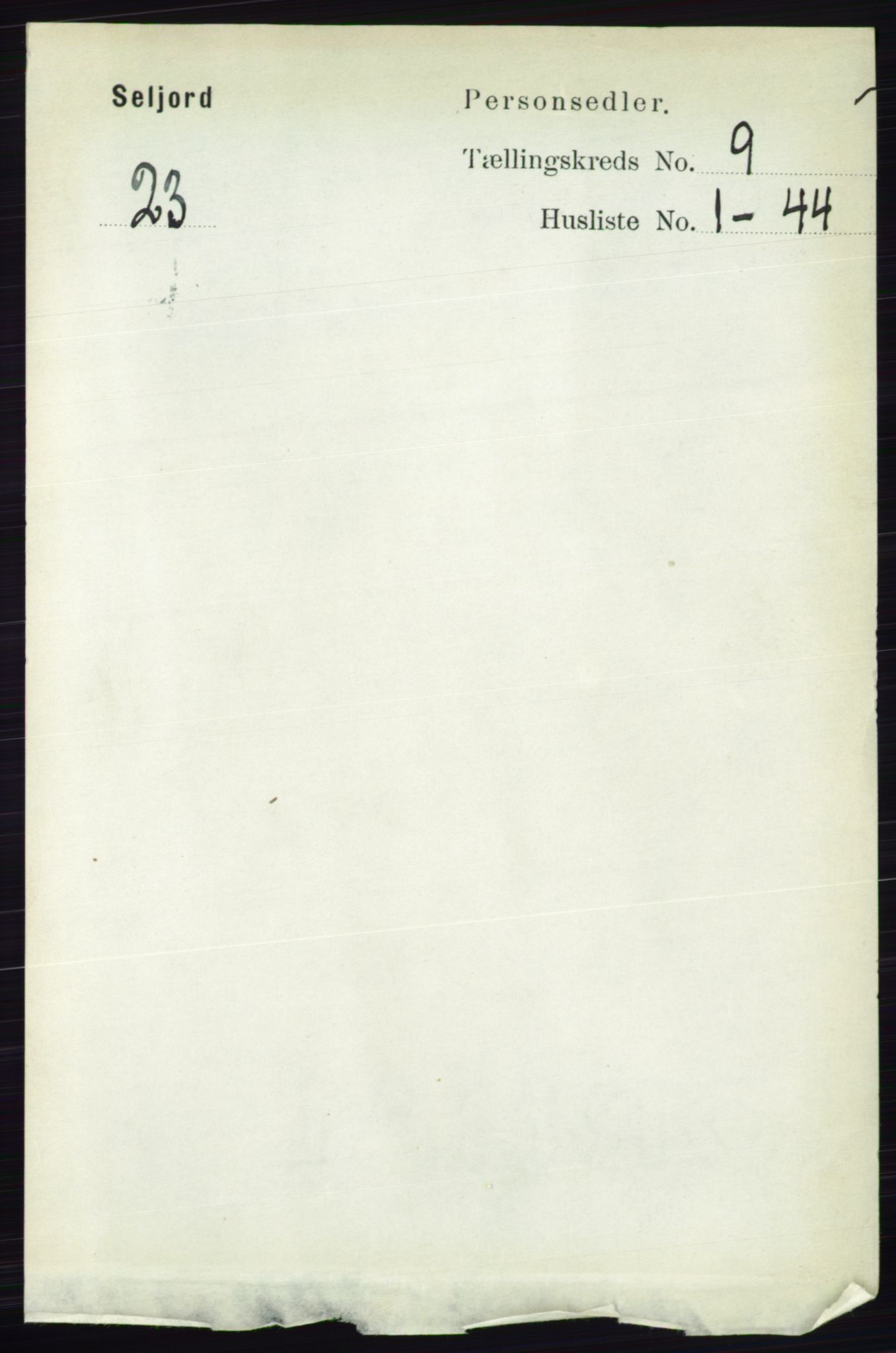 RA, Folketelling 1891 for 0828 Seljord herred, 1891, s. 3170