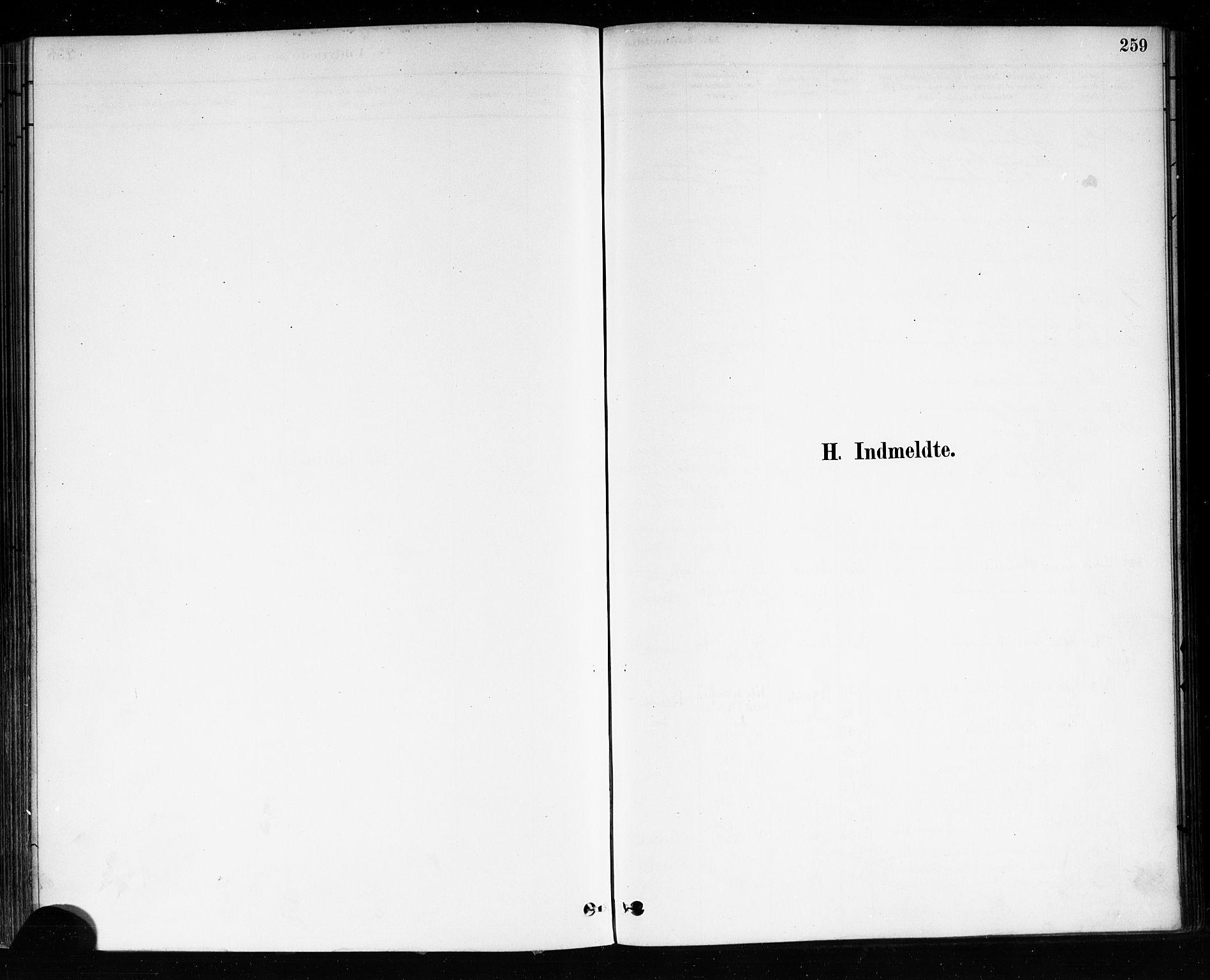 SAKO, Brevik kirkebøker, F/Fa/L0007: Ministerialbok nr. 7, 1882-1900, s. 259
