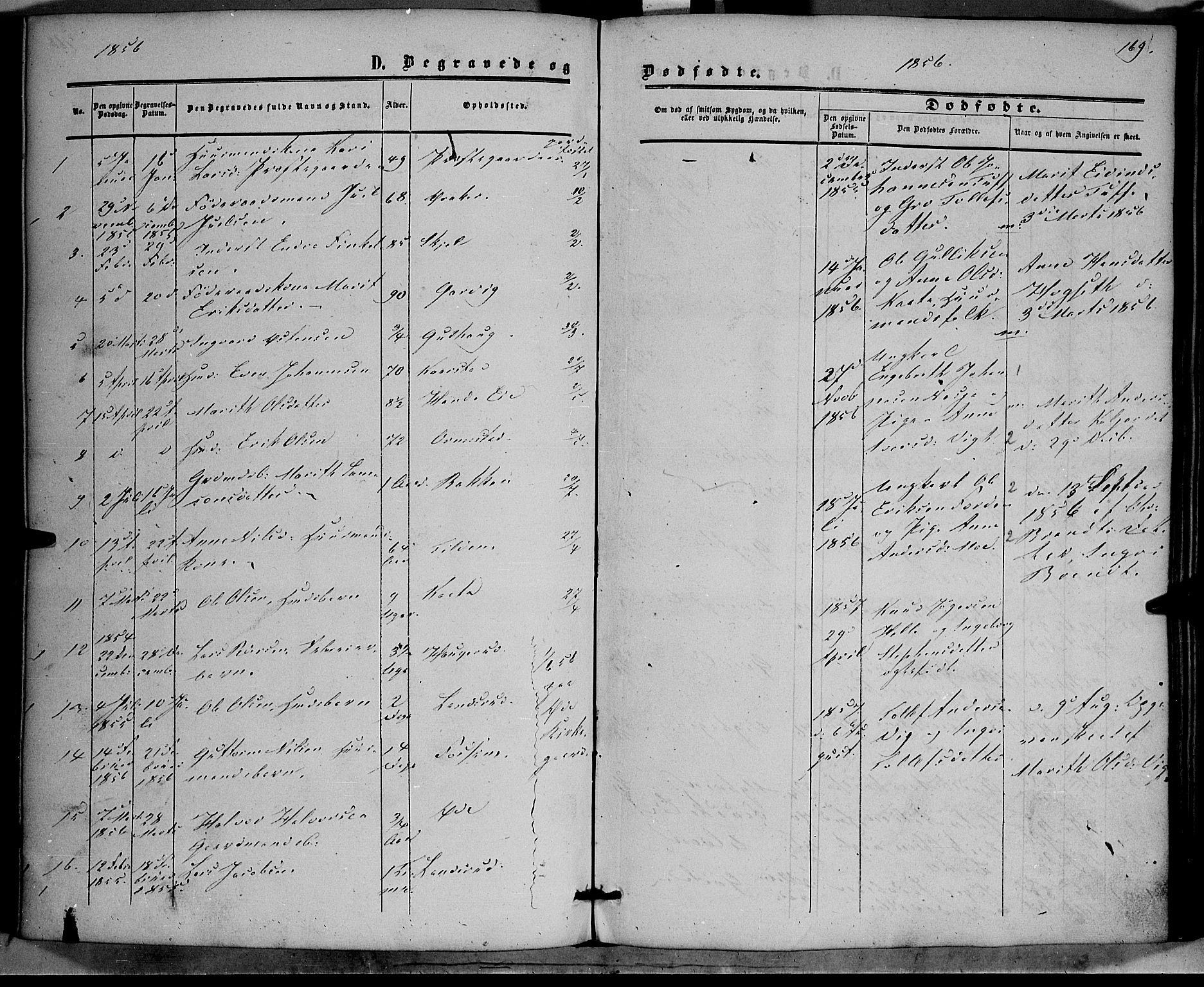 SAH, Vestre Slidre prestekontor, Ministerialbok nr. 2, 1856-1864, s. 169