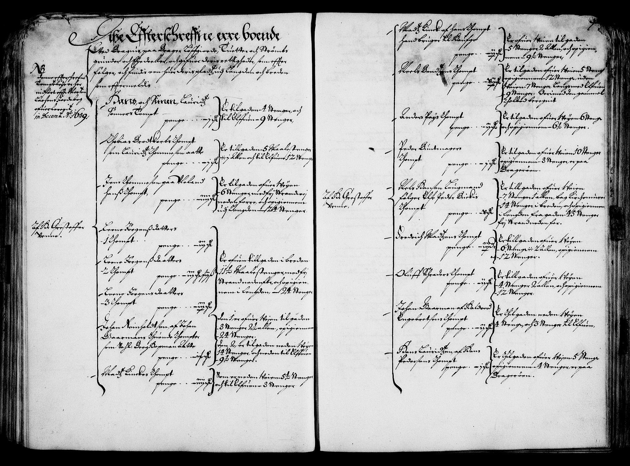 RA, Rentekammeret inntil 1814, Realistisk ordnet avdeling, On/L0001: Statens gods, 1651, s. 86