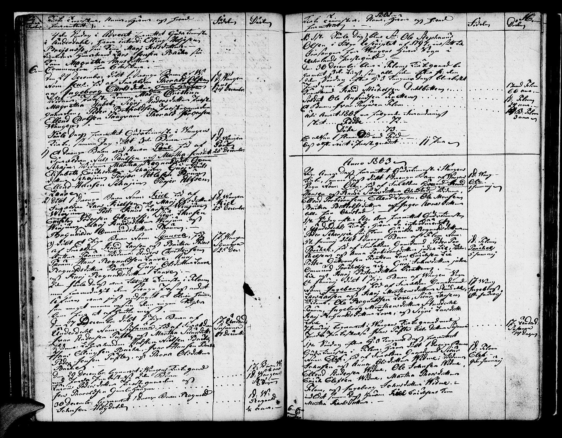 SAB, Aurland Sokneprestembete*, Ministerialbok nr. A 5, 1801-1821, s. 16