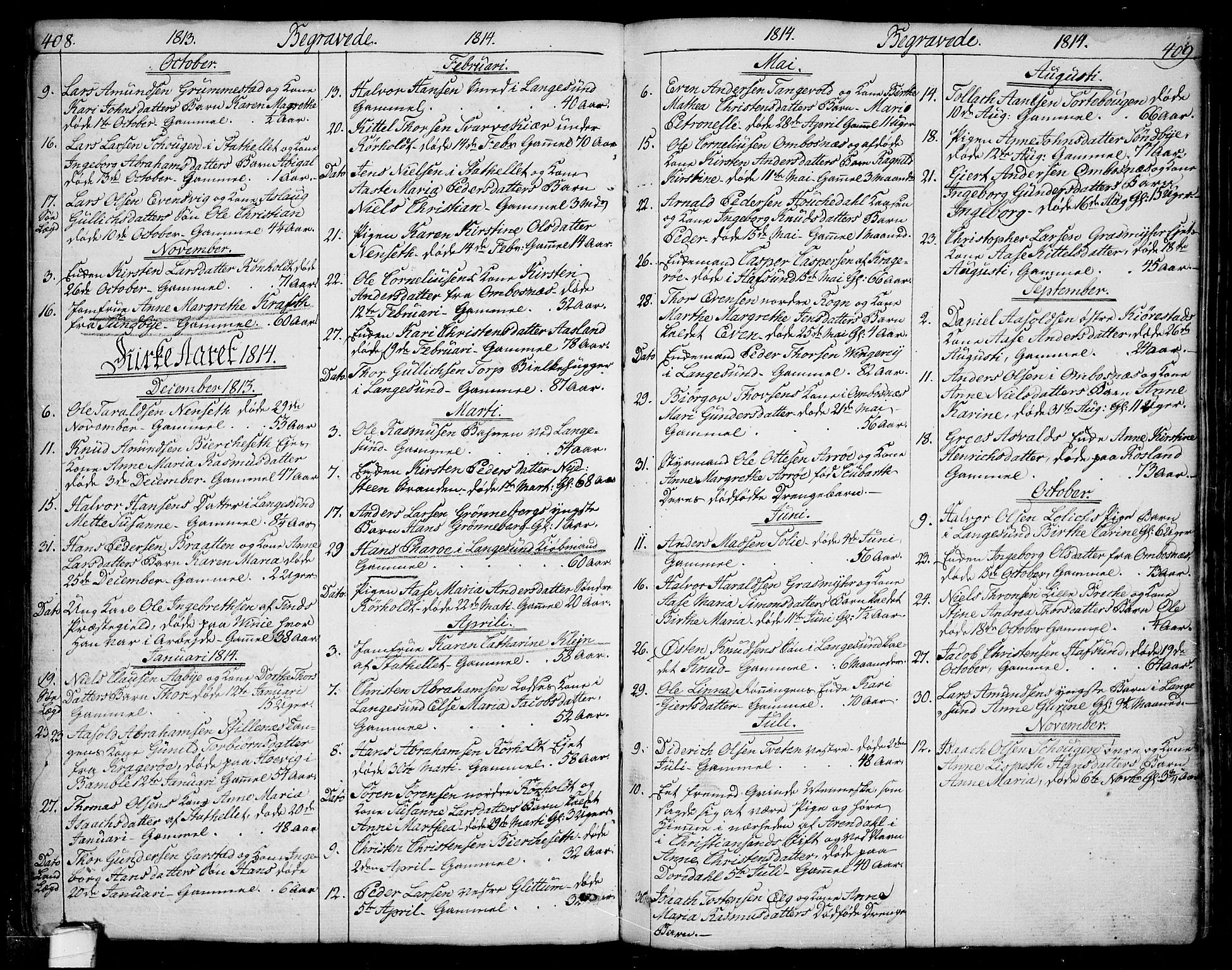 SAKO, Bamble kirkebøker, F/Fa/L0002: Ministerialbok nr. I 2, 1775-1814, s. 408-409