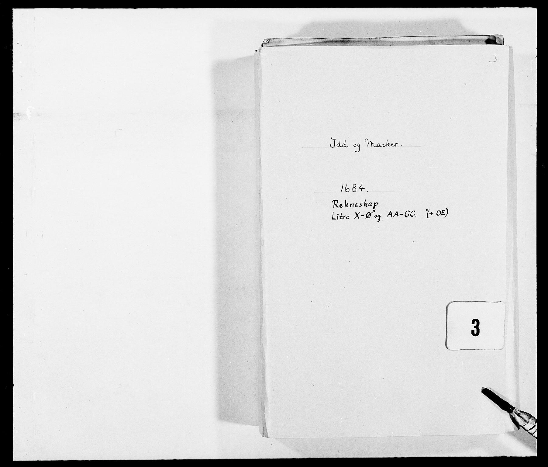 RA, Rentekammeret inntil 1814, Reviderte regnskaper, Fogderegnskap, R01/L0005: Fogderegnskap Idd og Marker , 1682-1684, s. 1