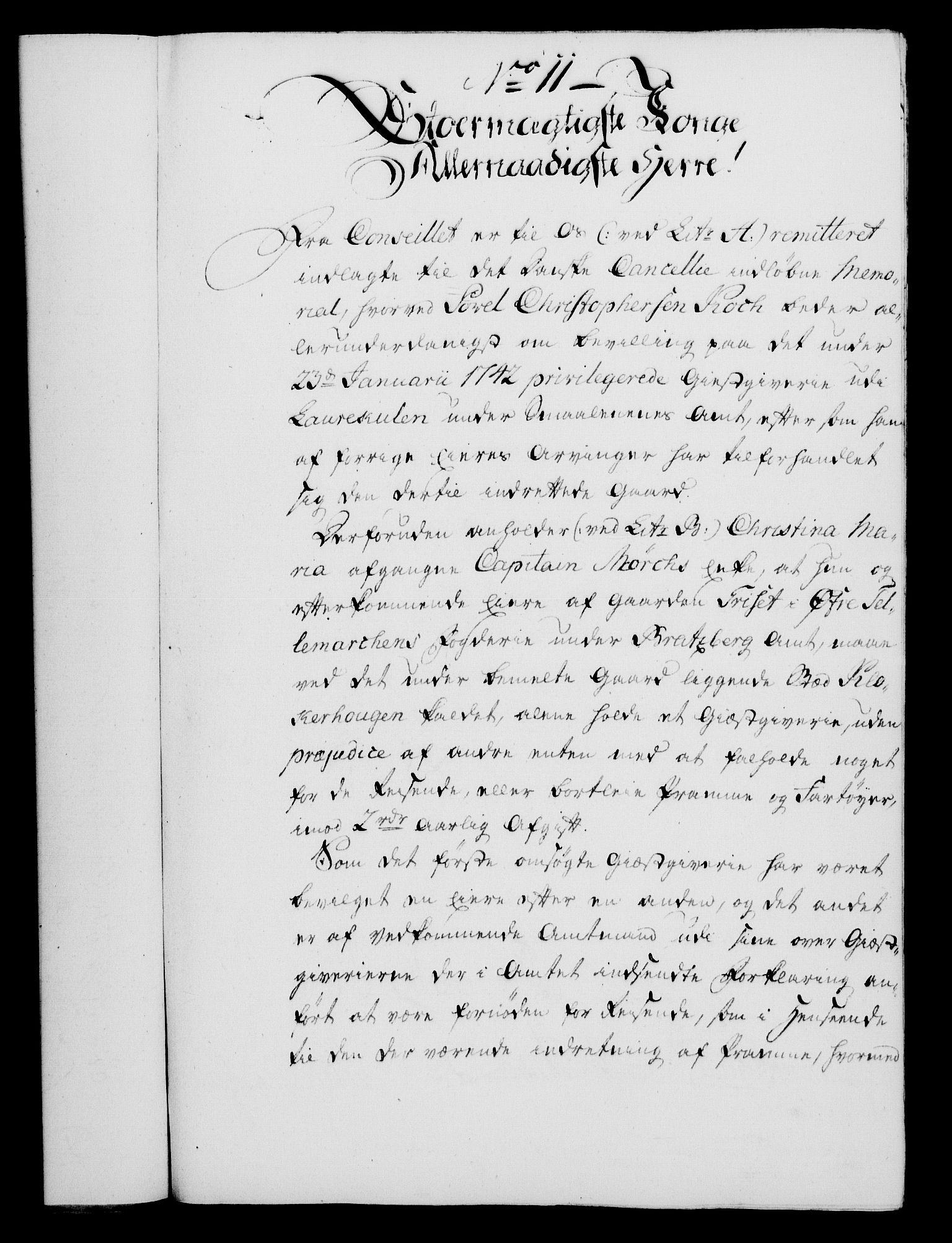 RA, Rentekammeret, Kammerkanselliet, G/Gf/Gfa/L0045: Norsk relasjons- og resolusjonsprotokoll (merket RK 52.45), 1763, s. 60