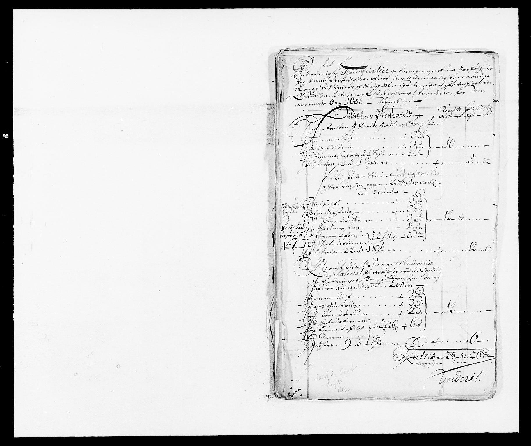 RA, Rentekammeret inntil 1814, Reviderte regnskaper, Fogderegnskap, R13/L0825: Fogderegnskap Solør, Odal og Østerdal, 1688, s. 239