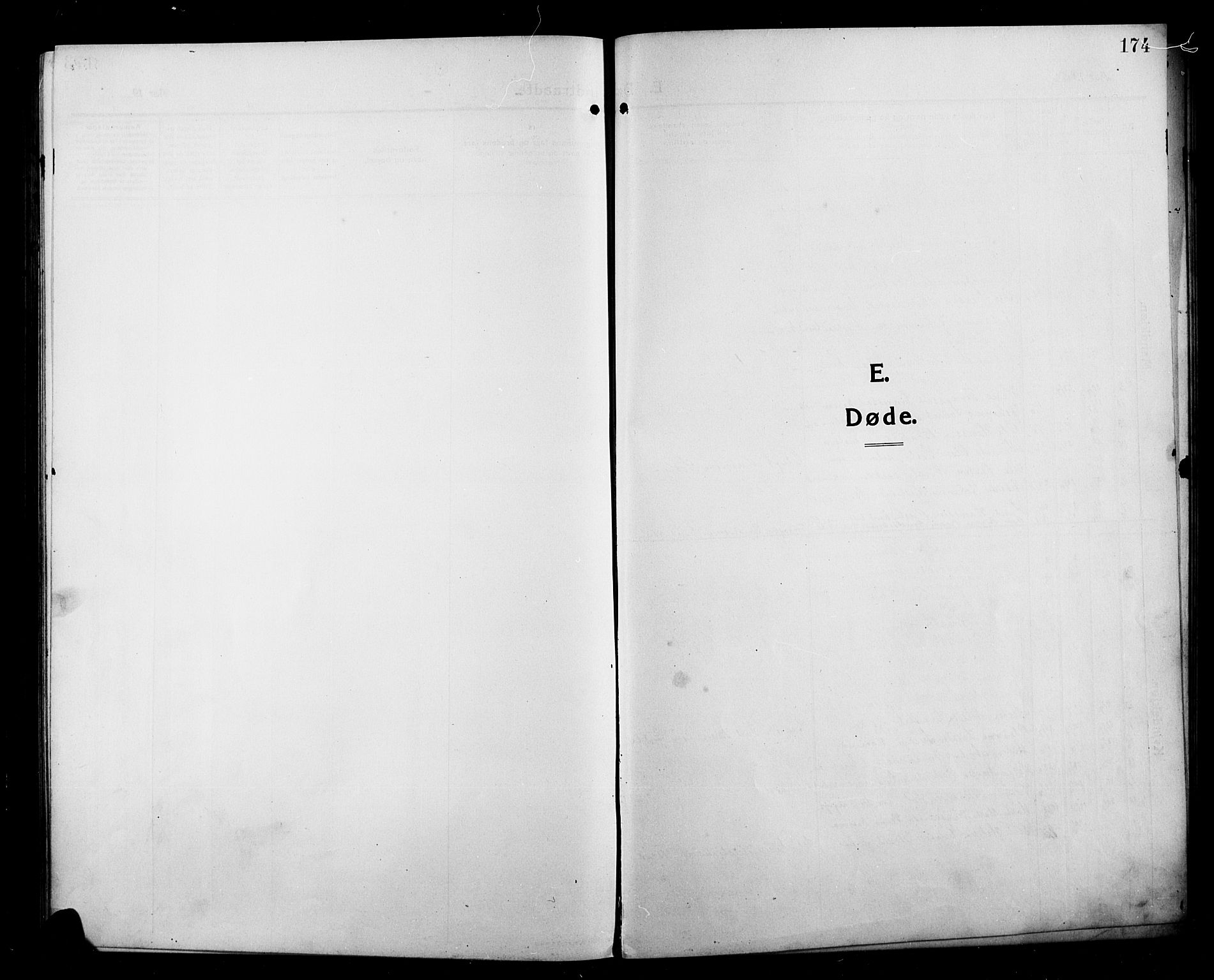 SAH, Kolbu prestekontor, Klokkerbok nr. 1, 1912-1925, s. 174