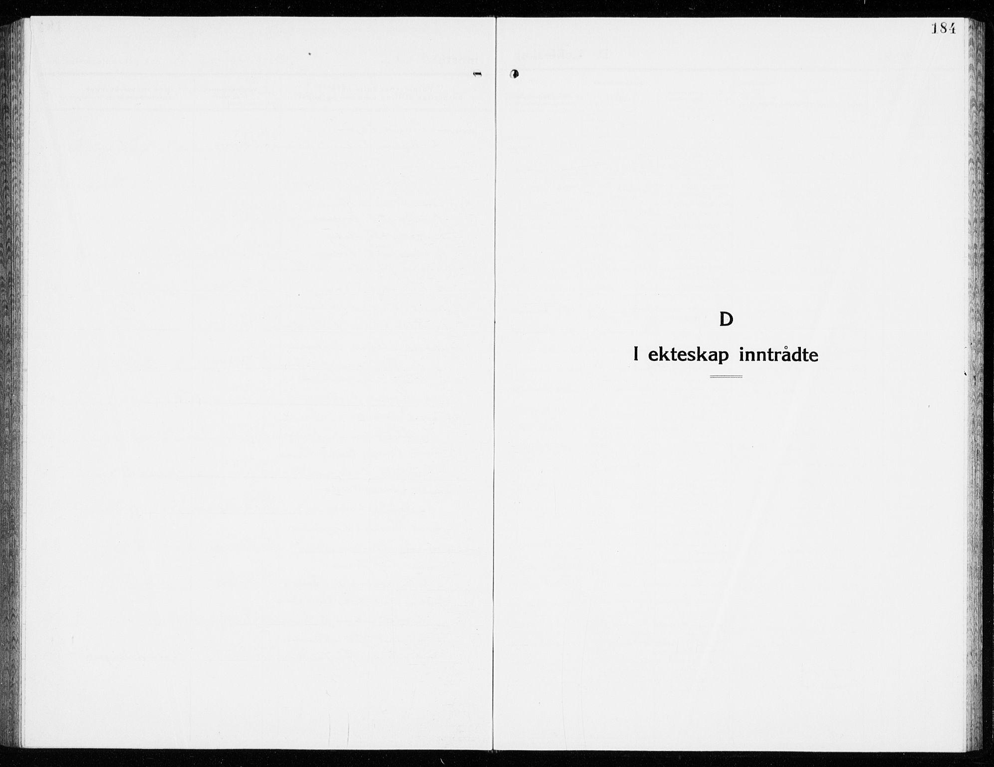 SAKO, Eidanger kirkebøker, G/Ga/L0005: Klokkerbok nr. 5, 1928-1942, s. 184