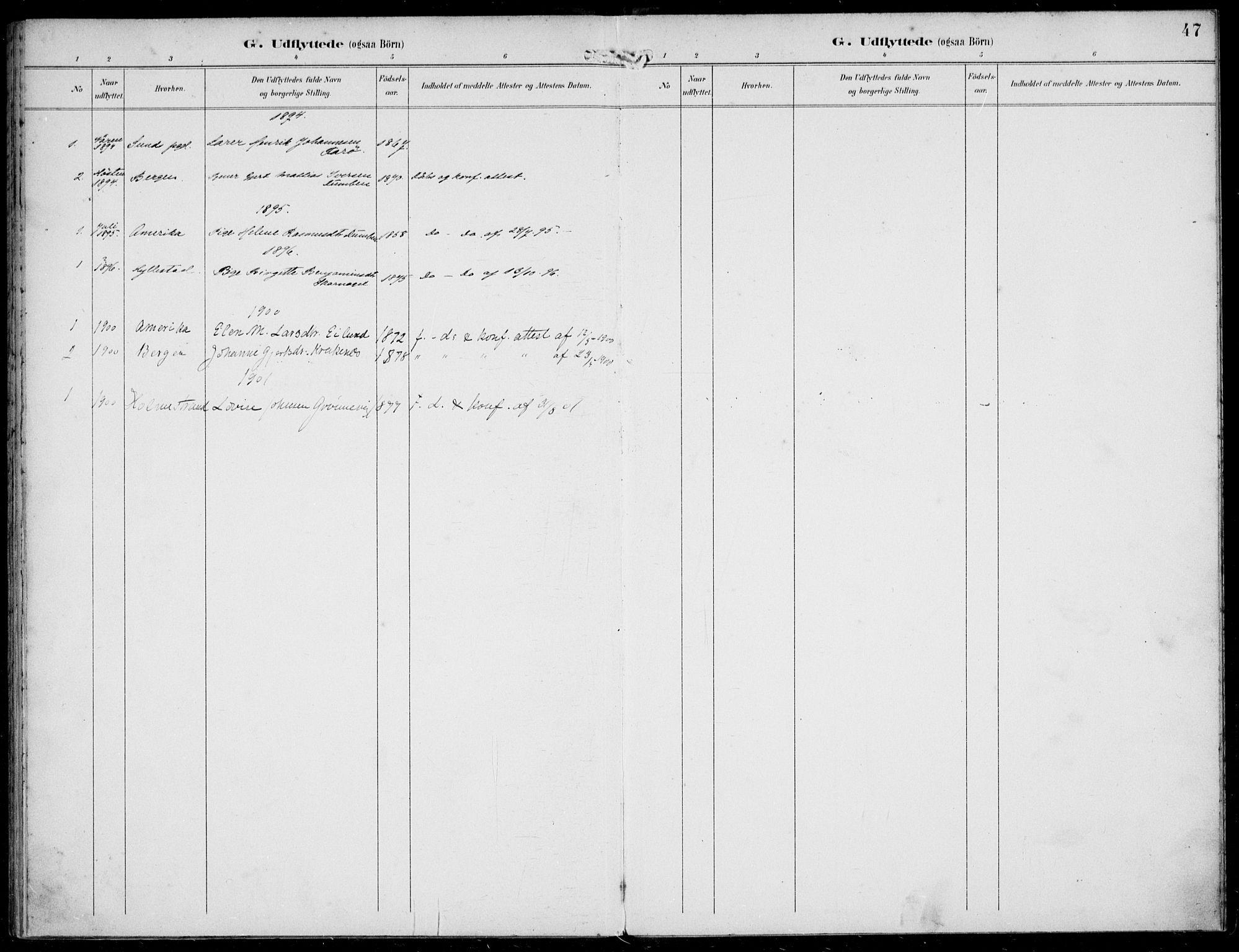 SAB, Solund sokneprestembete, Ministerialbok nr. B  1, 1891-1901, s. 47