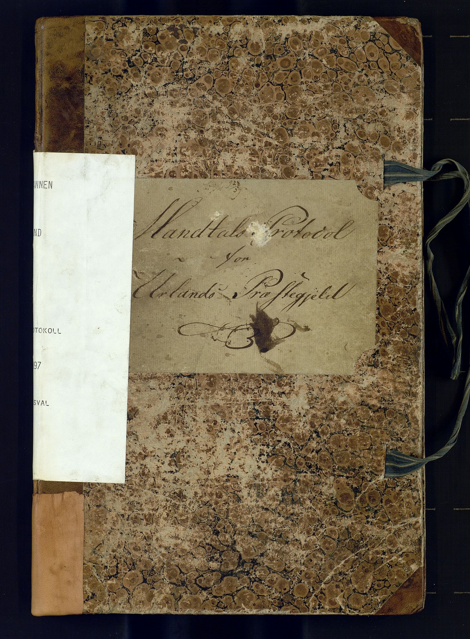 SAB, Lensmannen i Aurland, 0004/L0001: Manntalsprotokoll, 1829-1897