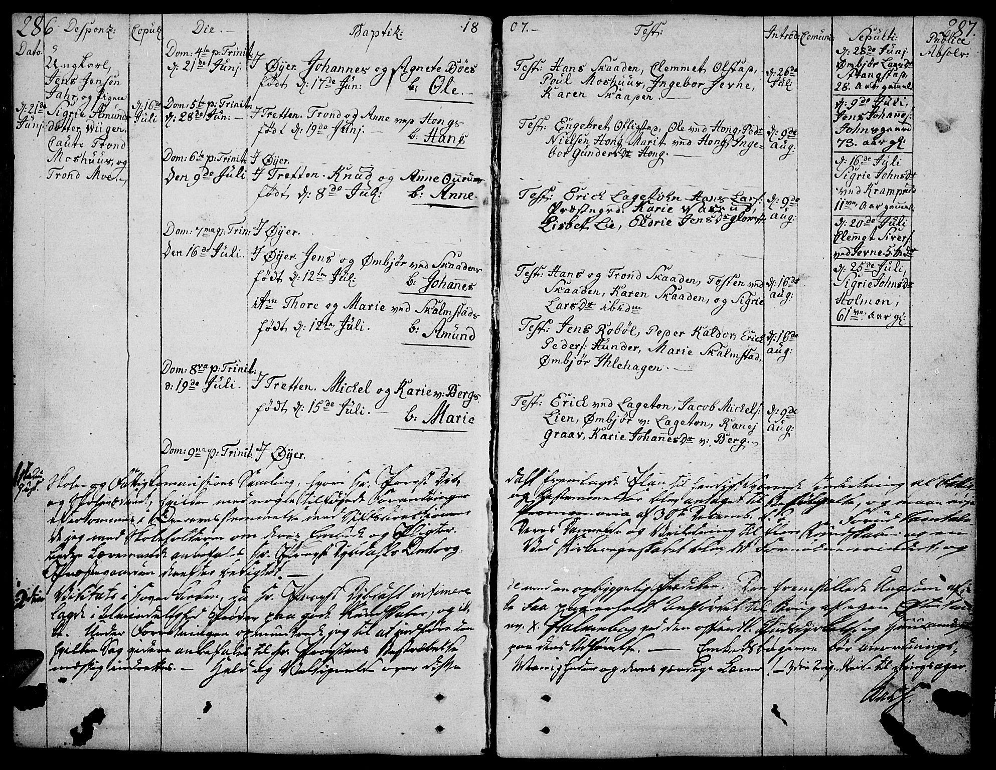 SAH, Øyer prestekontor, Ministerialbok nr. 3, 1784-1824, s. 286-287