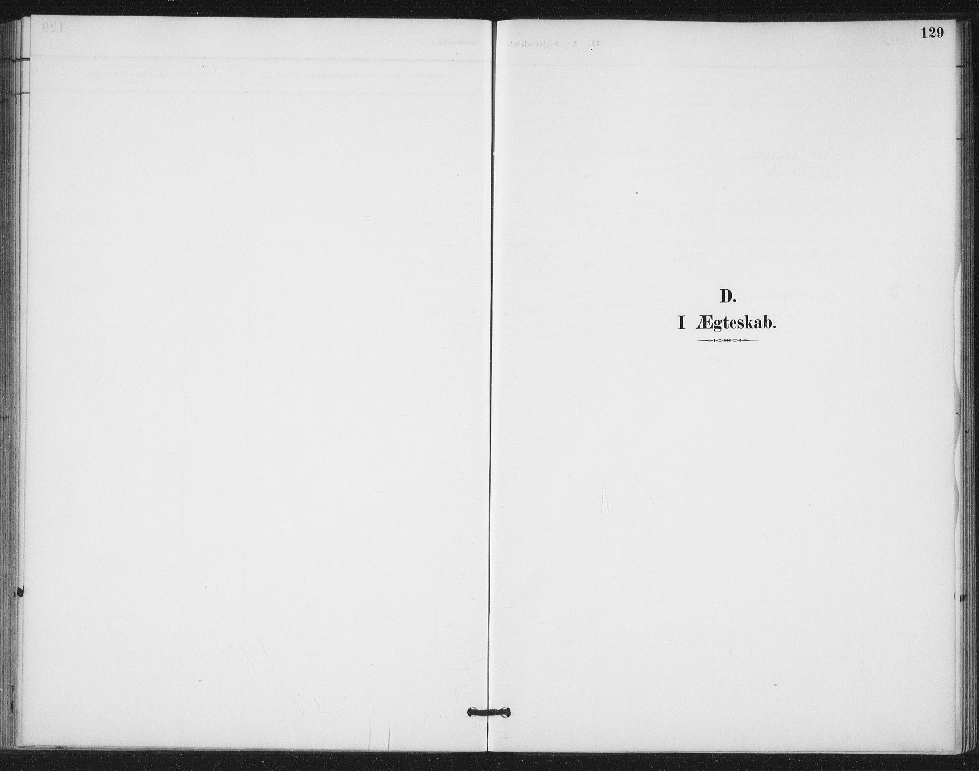 SAT, Ministerialprotokoller, klokkerbøker og fødselsregistre - Nord-Trøndelag, 772/L0603: Ministerialbok nr. 772A01, 1885-1912, s. 129