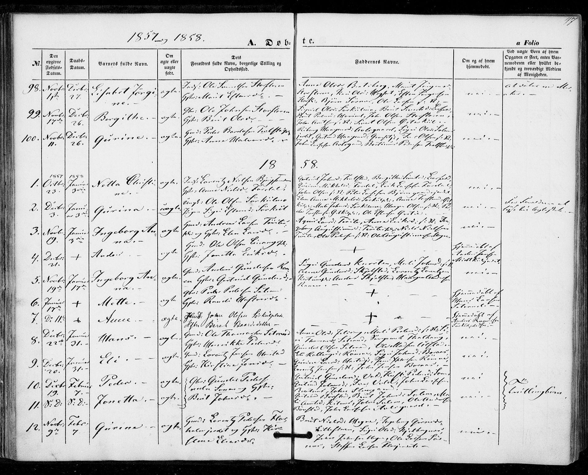 SAT, Ministerialprotokoller, klokkerbøker og fødselsregistre - Nord-Trøndelag, 703/L0028: Ministerialbok nr. 703A01, 1850-1862, s. 47