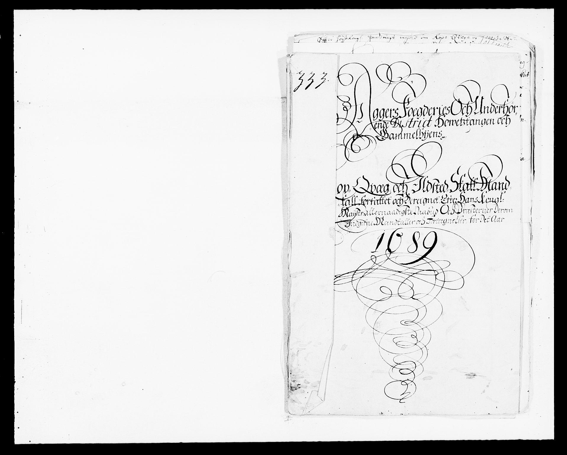 RA, Rentekammeret inntil 1814, Reviderte regnskaper, Fogderegnskap, R08/L0423: Fogderegnskap Aker, 1687-1689, s. 112