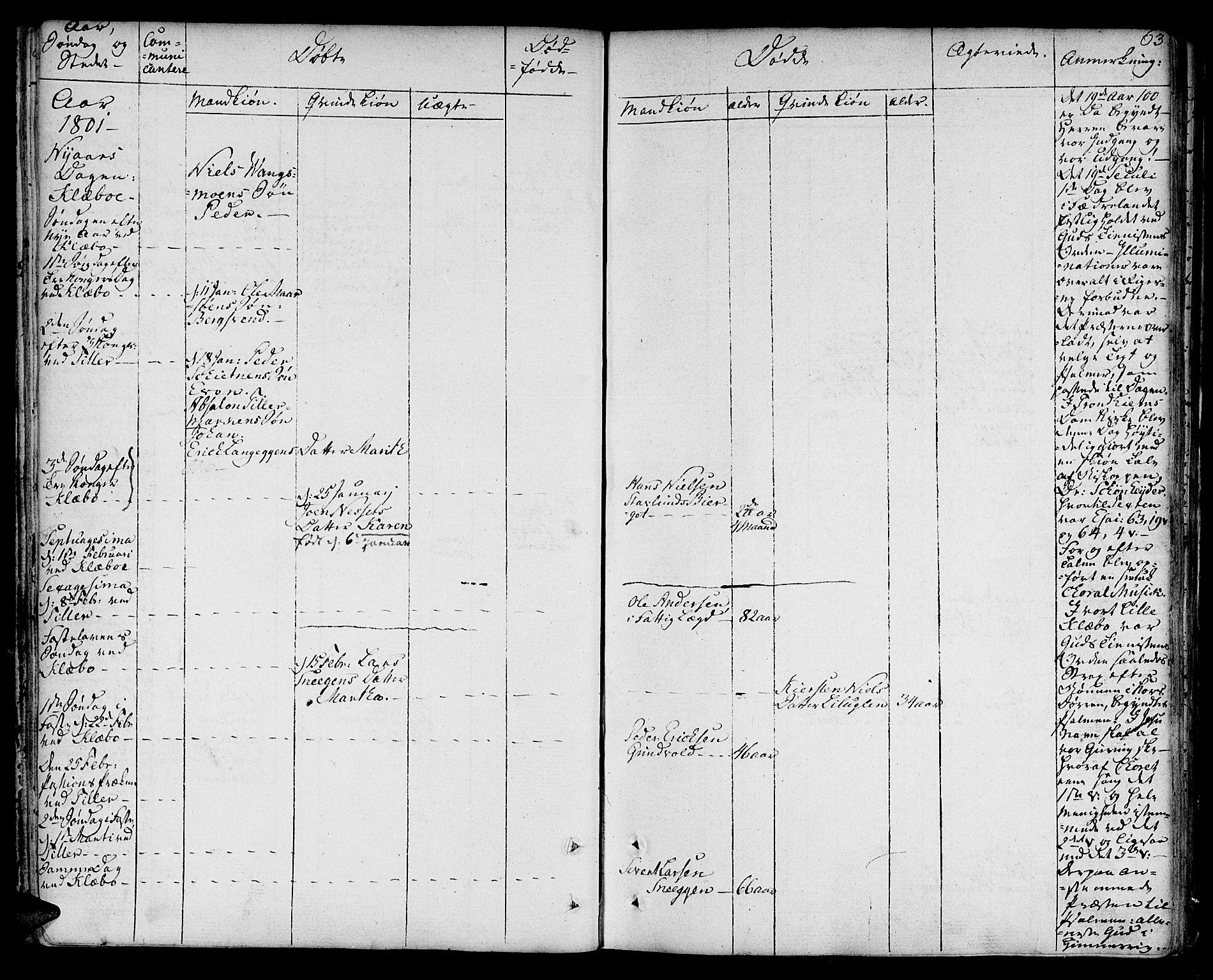 SAT, Ministerialprotokoller, klokkerbøker og fødselsregistre - Sør-Trøndelag, 618/L0438: Ministerialbok nr. 618A03, 1783-1815, s. 63