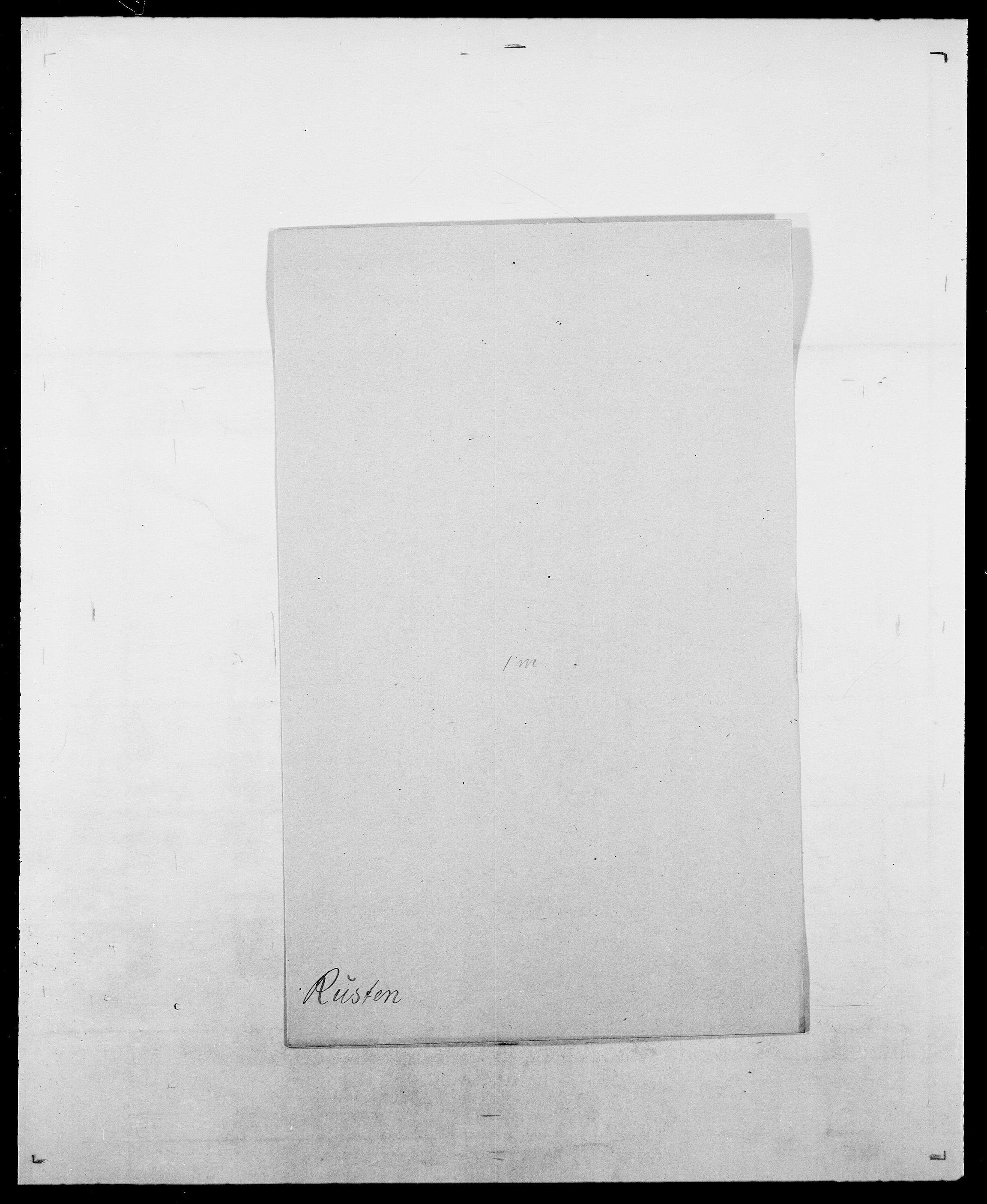 SAO, Delgobe, Charles Antoine - samling, D/Da/L0033: Roald - Røyem, s. 496