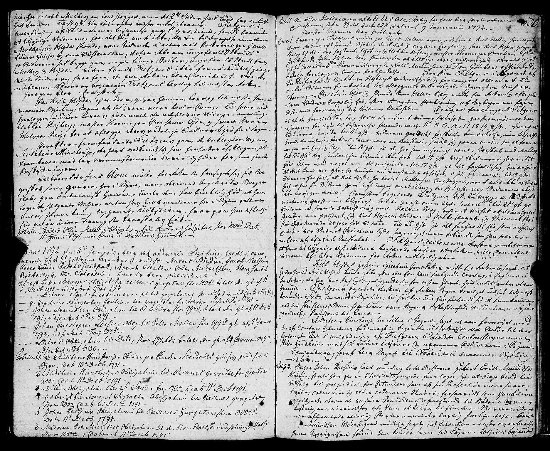 SAT, Molde byfogd, 1A/L0001: Justisprotokoll, 1764-1796, s. 501