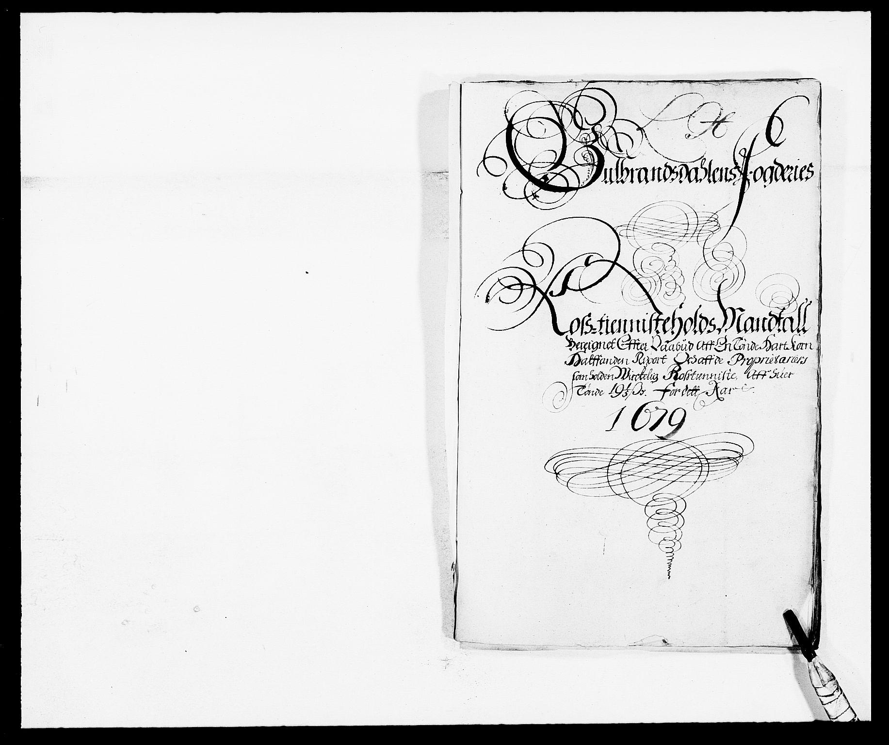 RA, Rentekammeret inntil 1814, Reviderte regnskaper, Fogderegnskap, R17/L1153: Fogderegnskap Gudbrandsdal, 1678-1679, s. 344