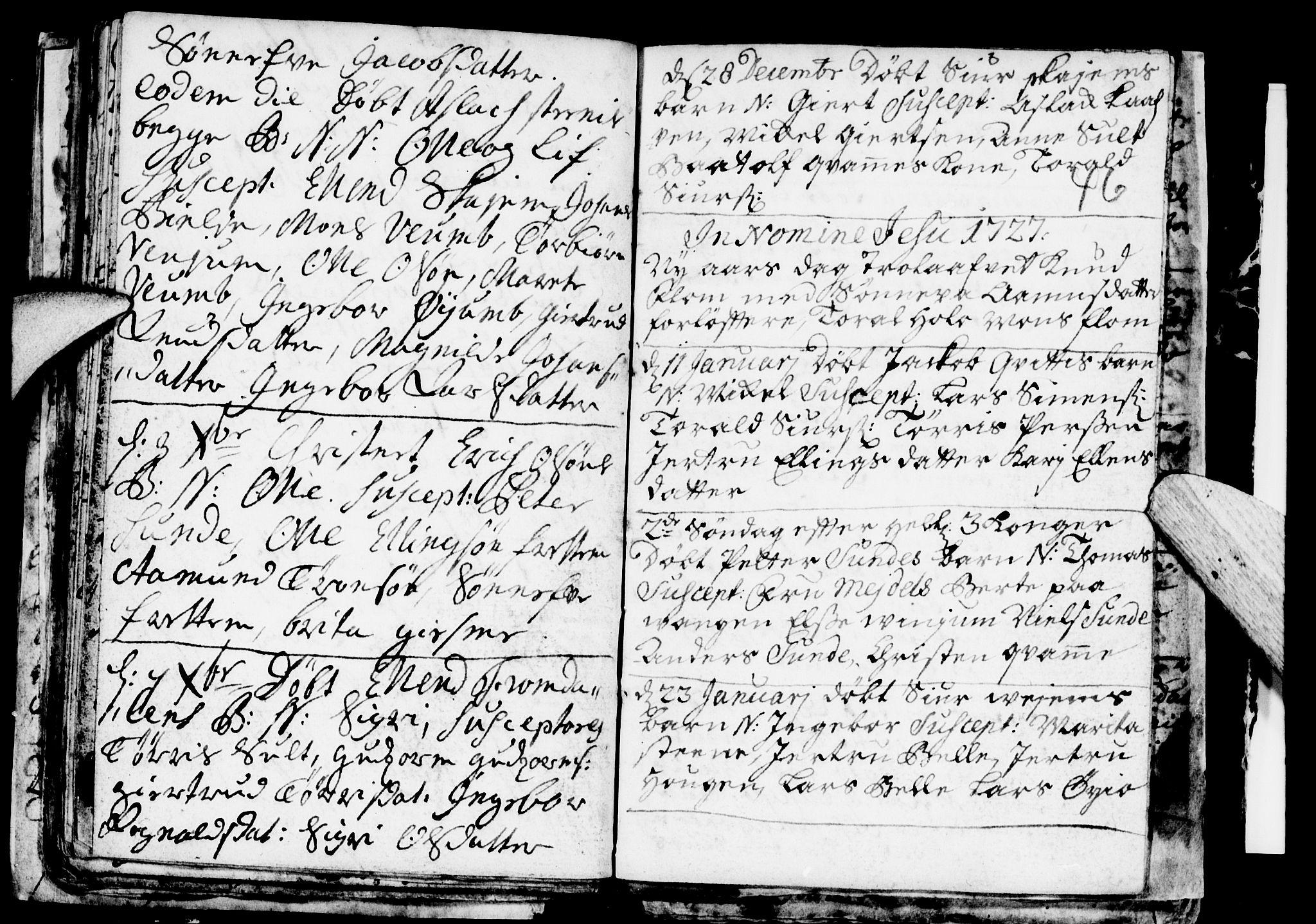 SAB, Aurland Sokneprestembete*, Ministerialbok nr. A 1, 1716-1734, s. 46