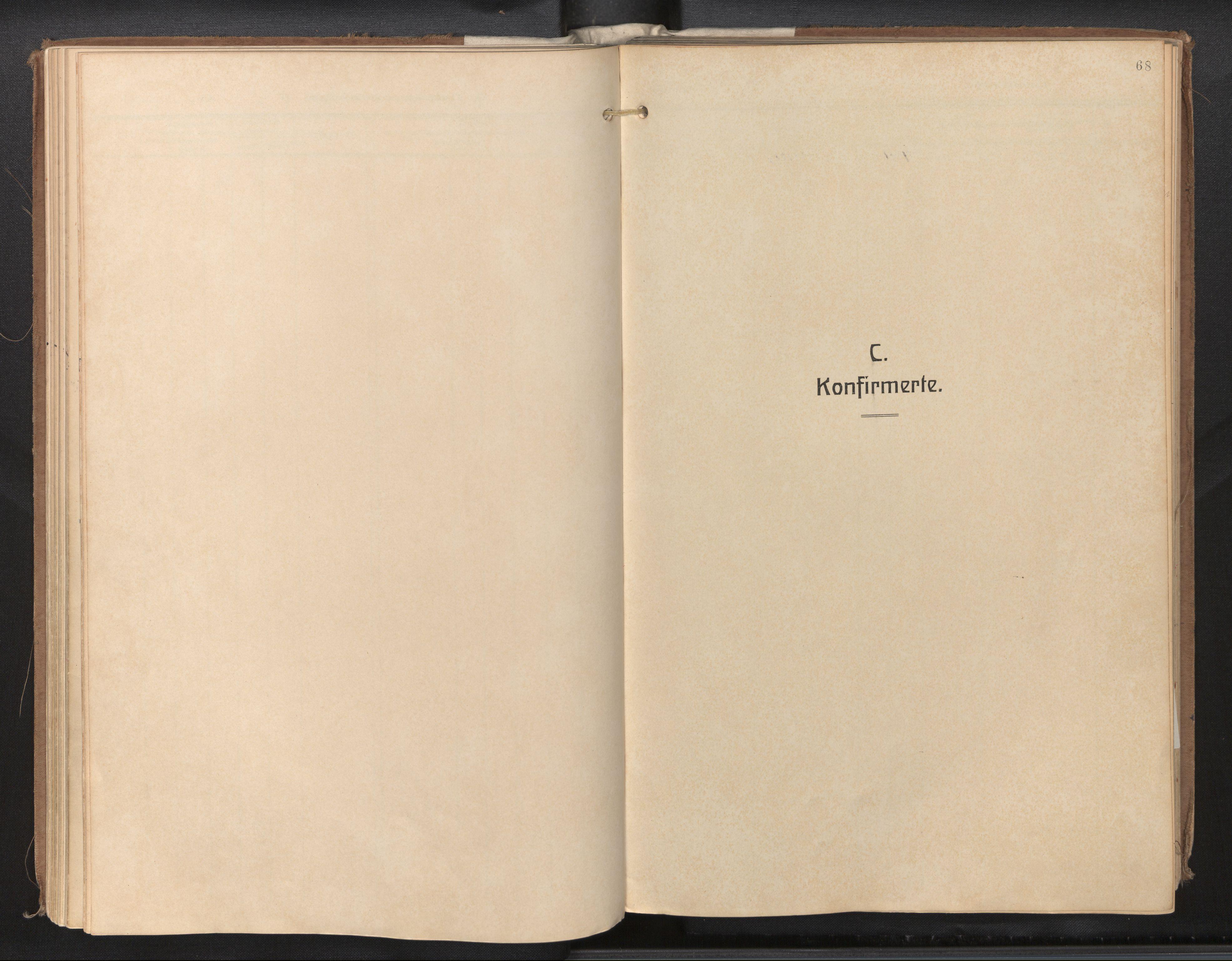 SAB, Privatarkiv 115 - Den norske sjømannsmisjon i utlandet/New Orleans-Mobile-Gulfhavnene, H/Ha/L0001: Ministerialbok nr. A 1, 1927-1978, s. 67b-68a