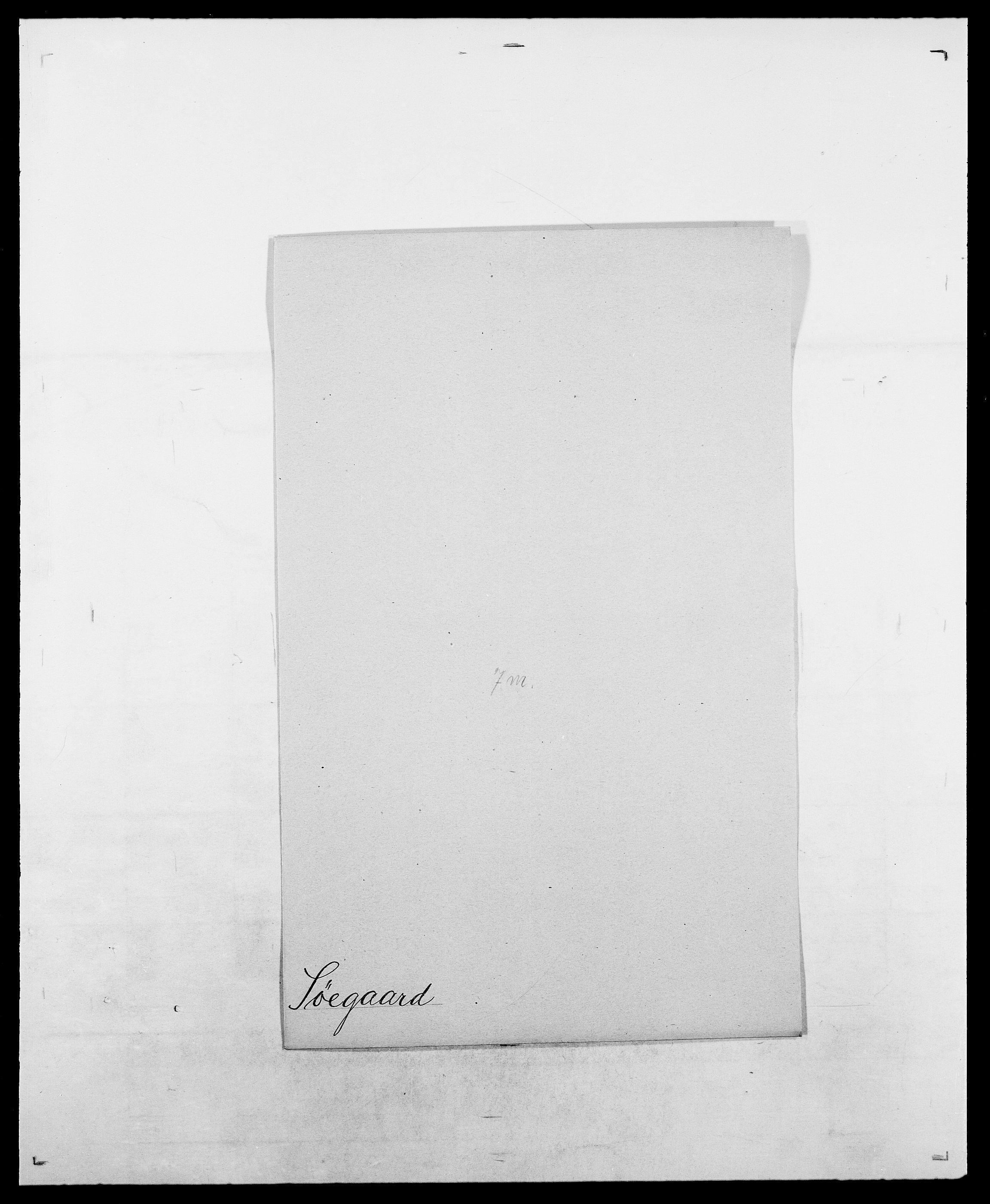 SAO, Delgobe, Charles Antoine - samling, D/Da/L0038: Svanenskjold - Thornsohn, s. 161