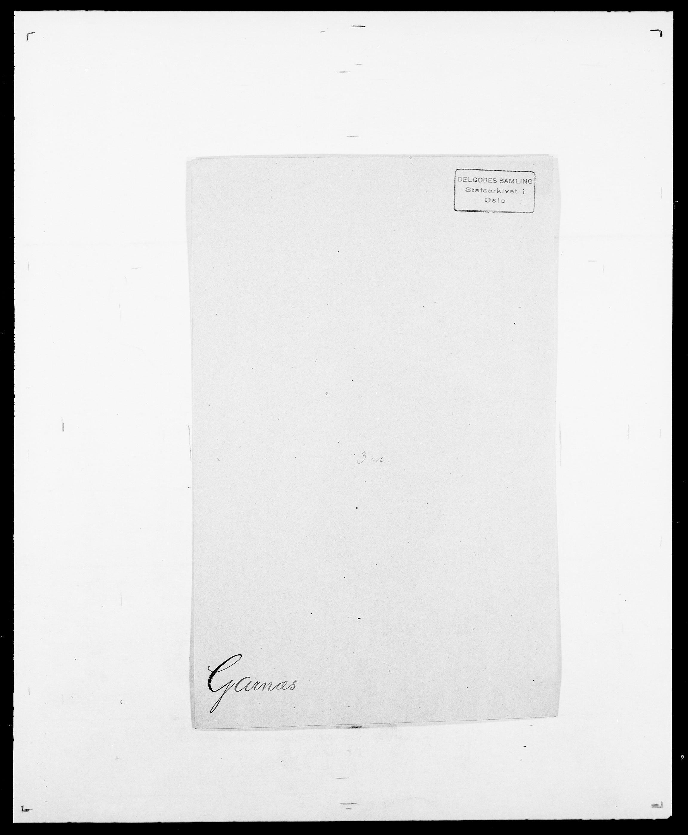 SAO, Delgobe, Charles Antoine - samling, D/Da/L0013: Forbos - Geving, s. 526