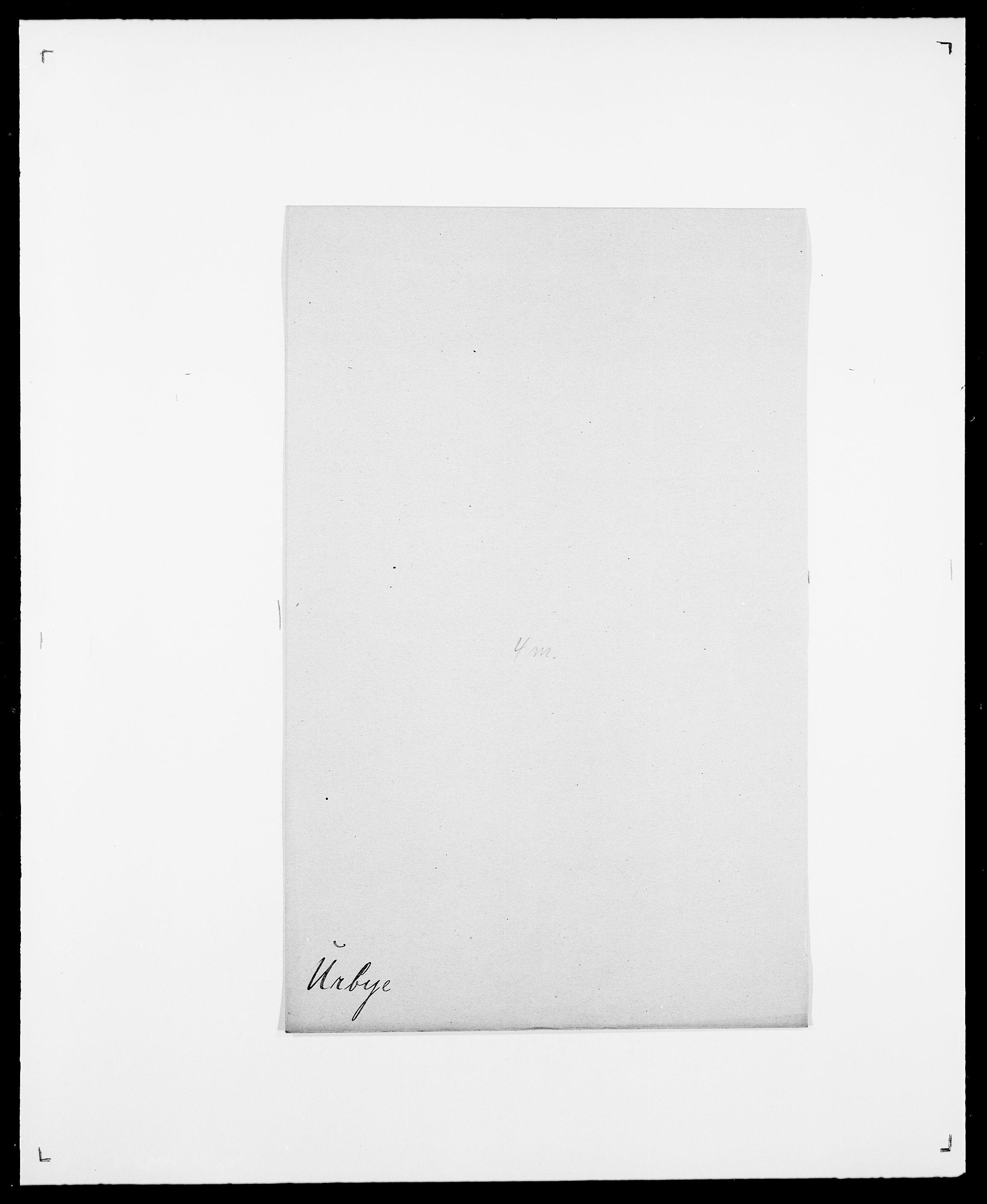 SAO, Delgobe, Charles Antoine - samling, D/Da/L0039: Thorsen - Urup, s. 745