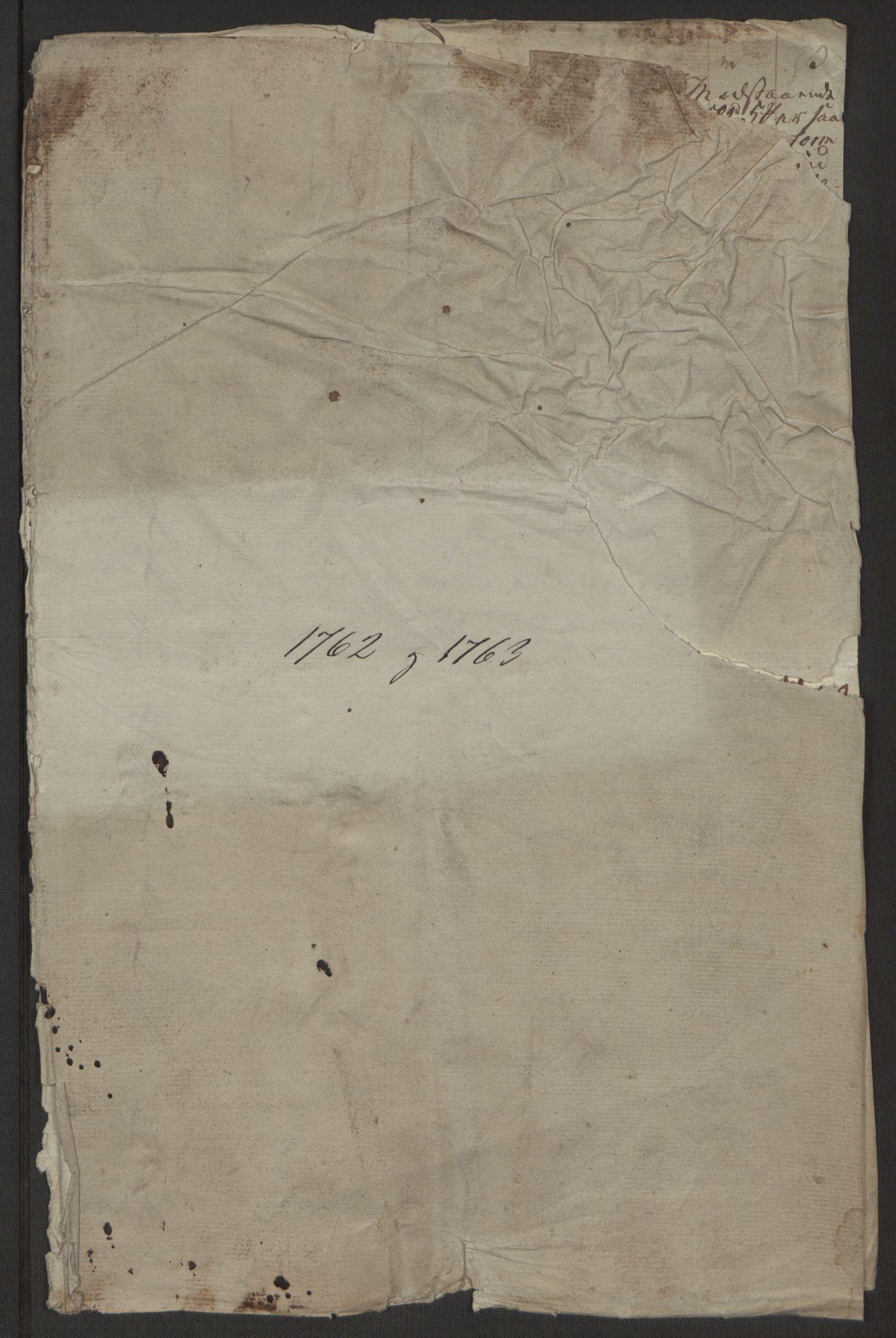 RA, Rentekammeret inntil 1814, Reviderte regnskaper, Byregnskaper, R/Rr/L0495: [R1] Kontribusjonsregnskap, 1762-1772, s. 4