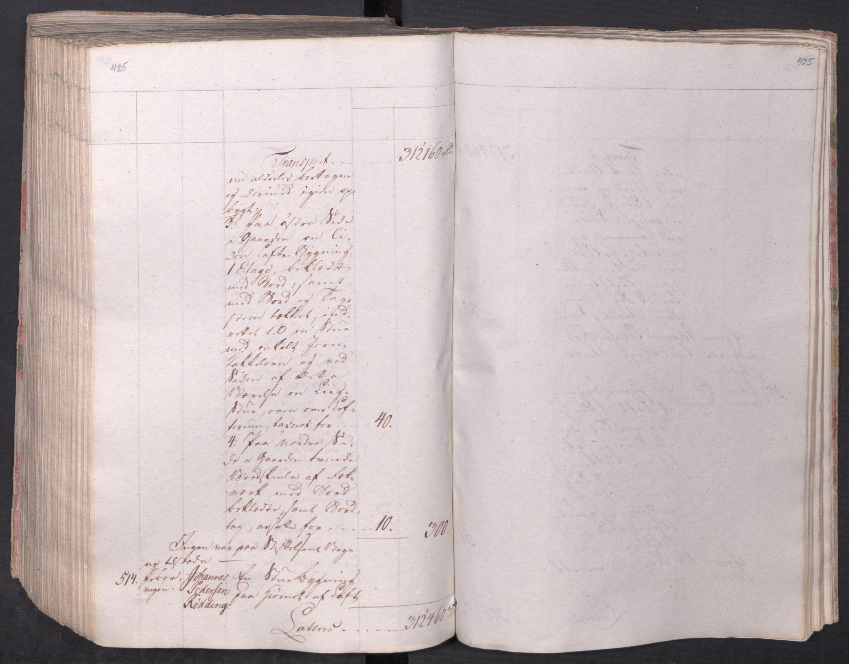 SAO, Kristiania stiftamt, I/Ia/L0015: Branntakster, 1797, s. 425