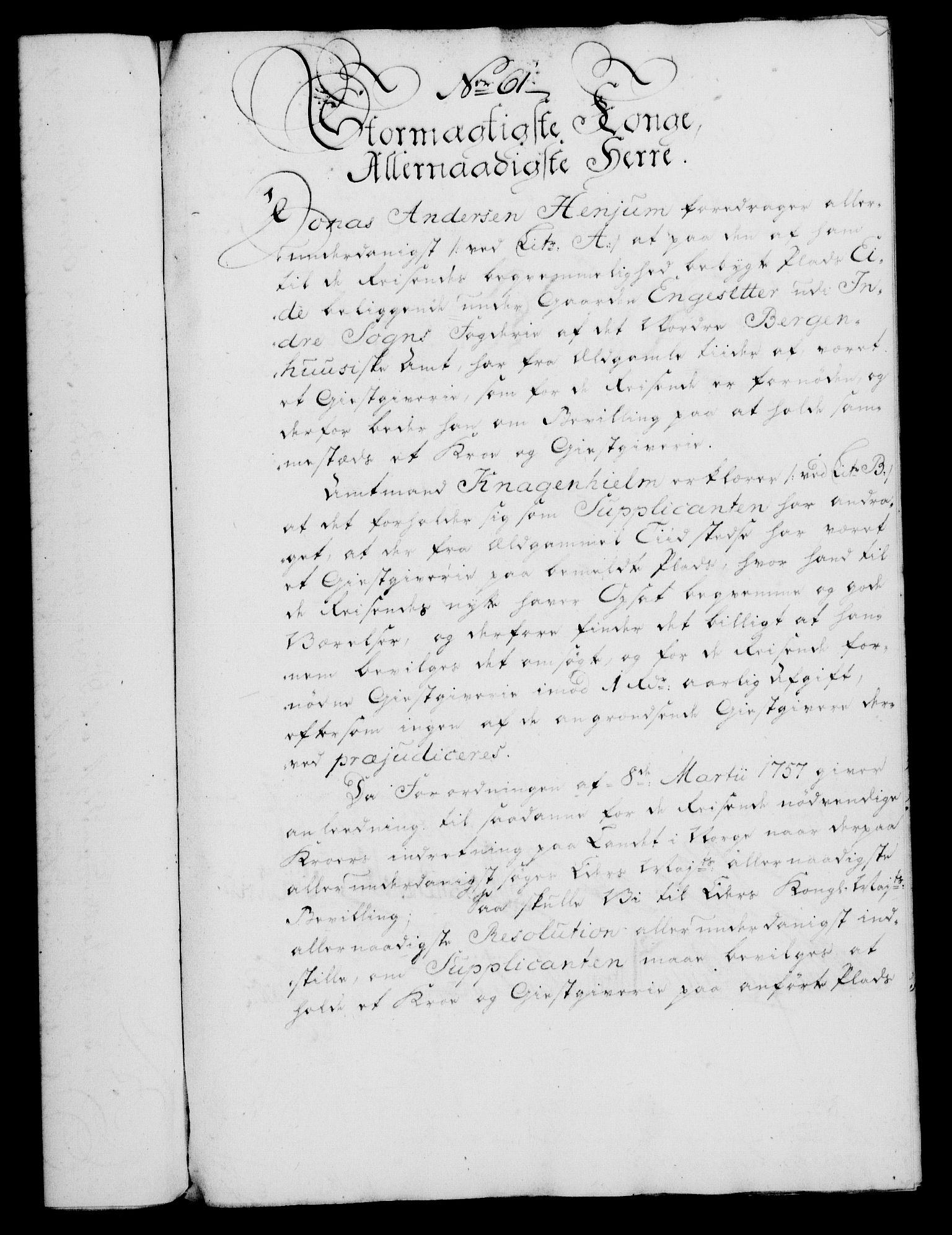 RA, Rentekammeret, Kammerkanselliet, G/Gf/Gfa/L0046: Norsk relasjons- og resolusjonsprotokoll (merket RK 52.46), 1764, s. 269