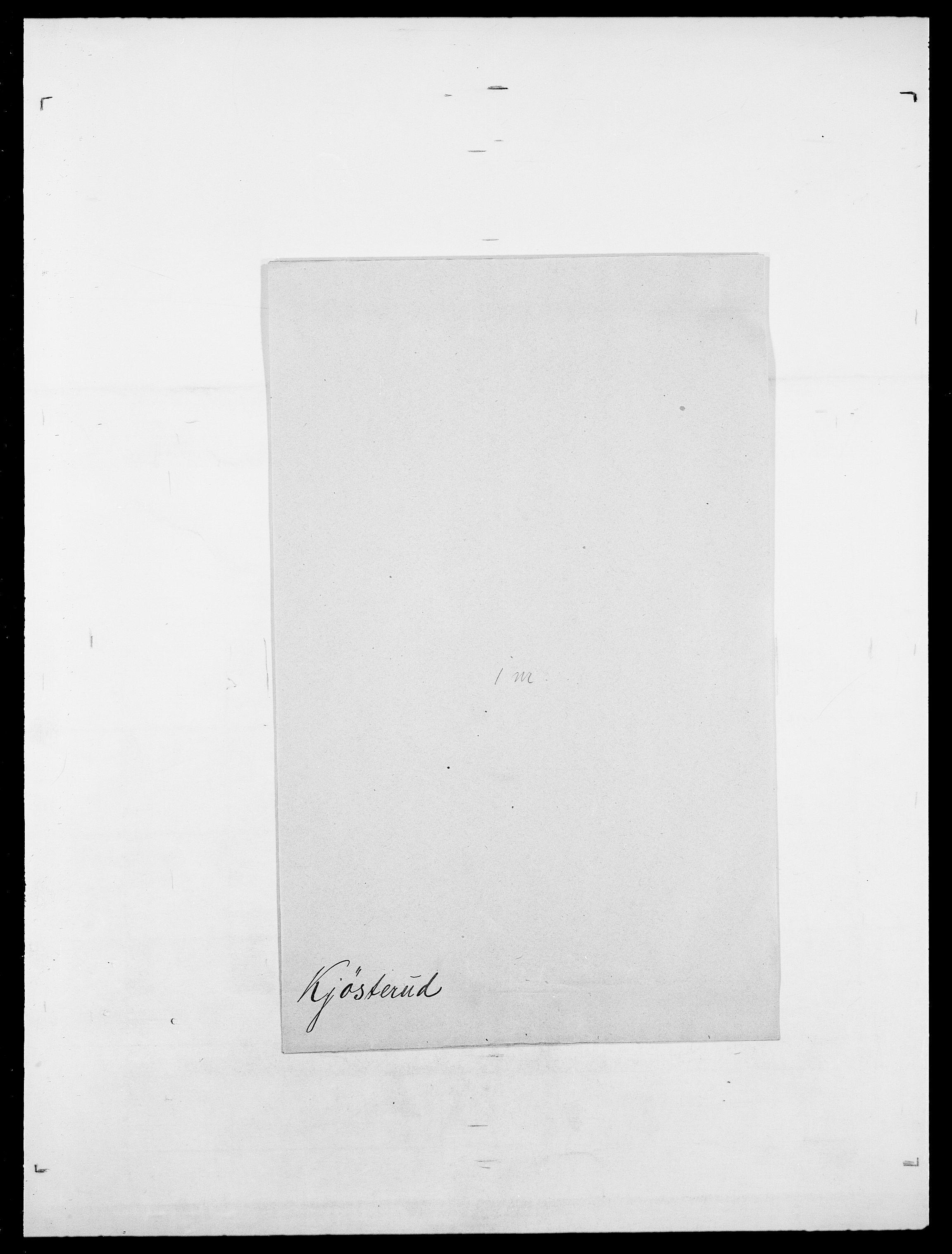 SAO, Delgobe, Charles Antoine - samling, D/Da/L0020: Irgens - Kjøsterud, s. 853