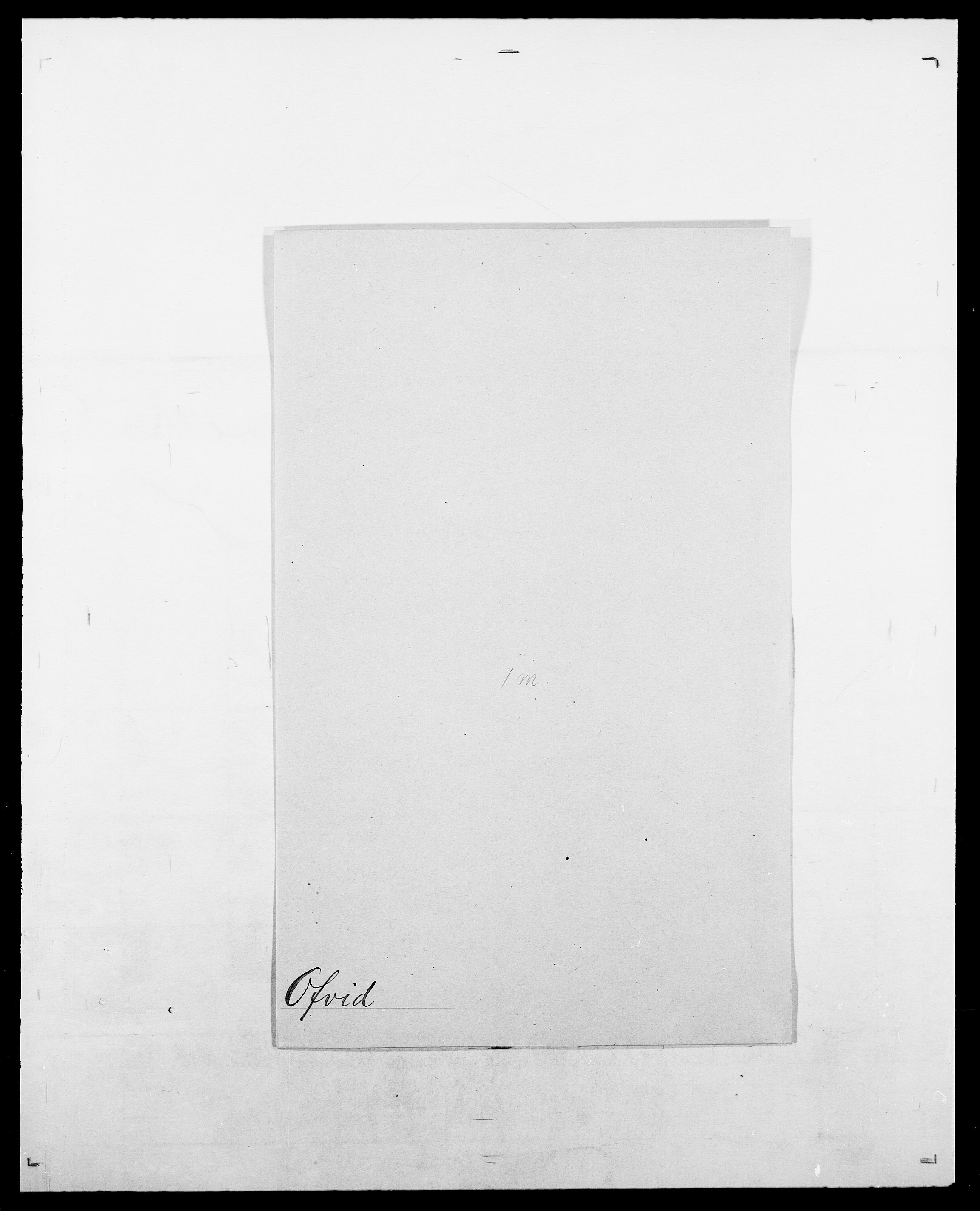 SAO, Delgobe, Charles Antoine - samling, D/Da/L0029: Obel - Oxholm, s. 51