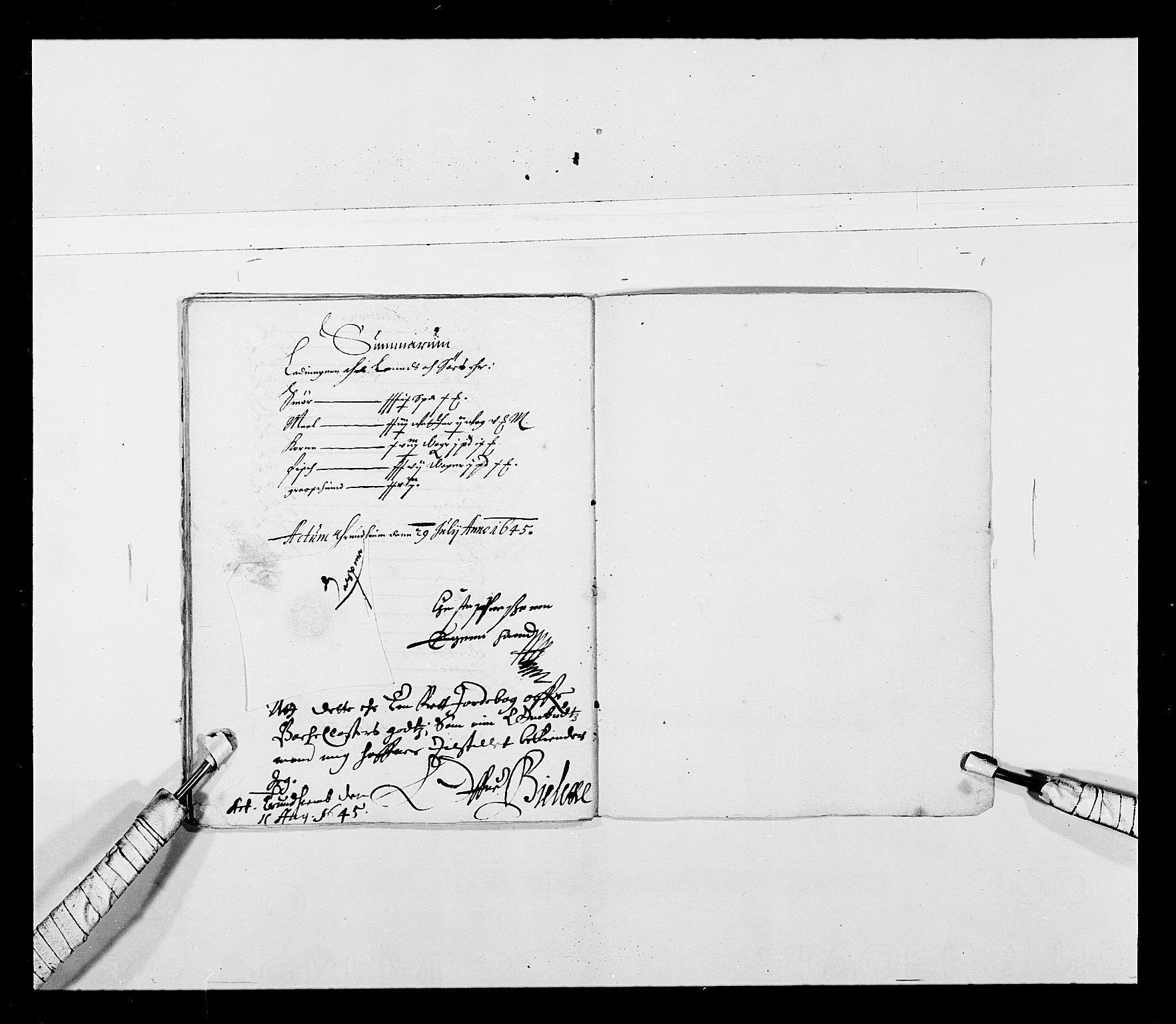 RA, Stattholderembetet 1572-1771, Ek/L0027: Jordebøker 1633-1658:, 1644-1645, s. 52