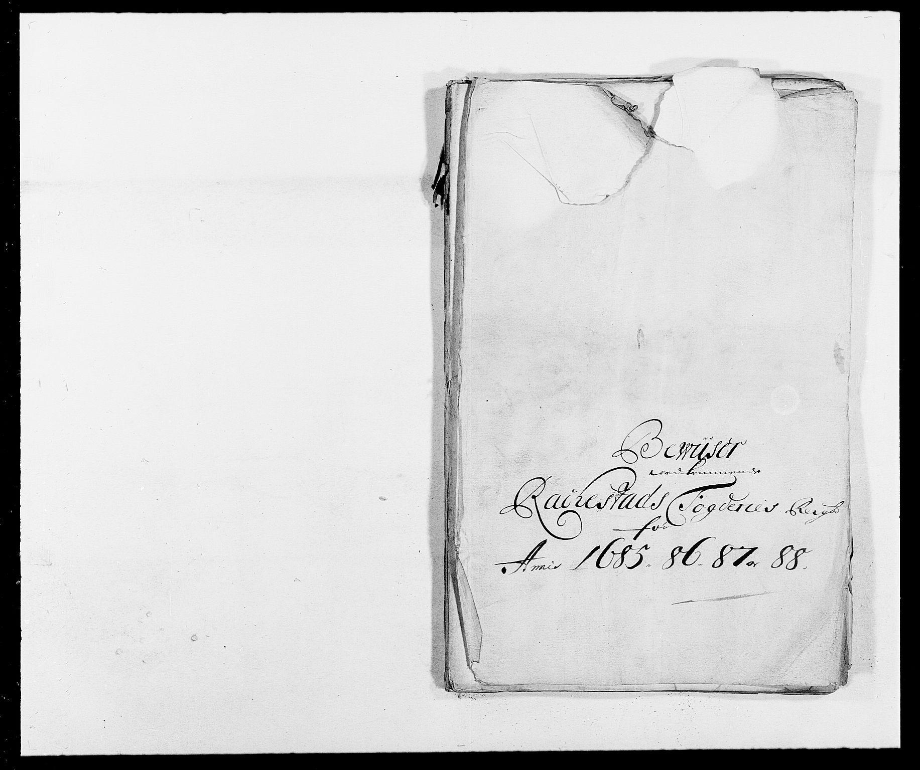 RA, Rentekammeret inntil 1814, Reviderte regnskaper, Fogderegnskap, R05/L0276: Fogderegnskap Rakkestad, 1683-1688, s. 272