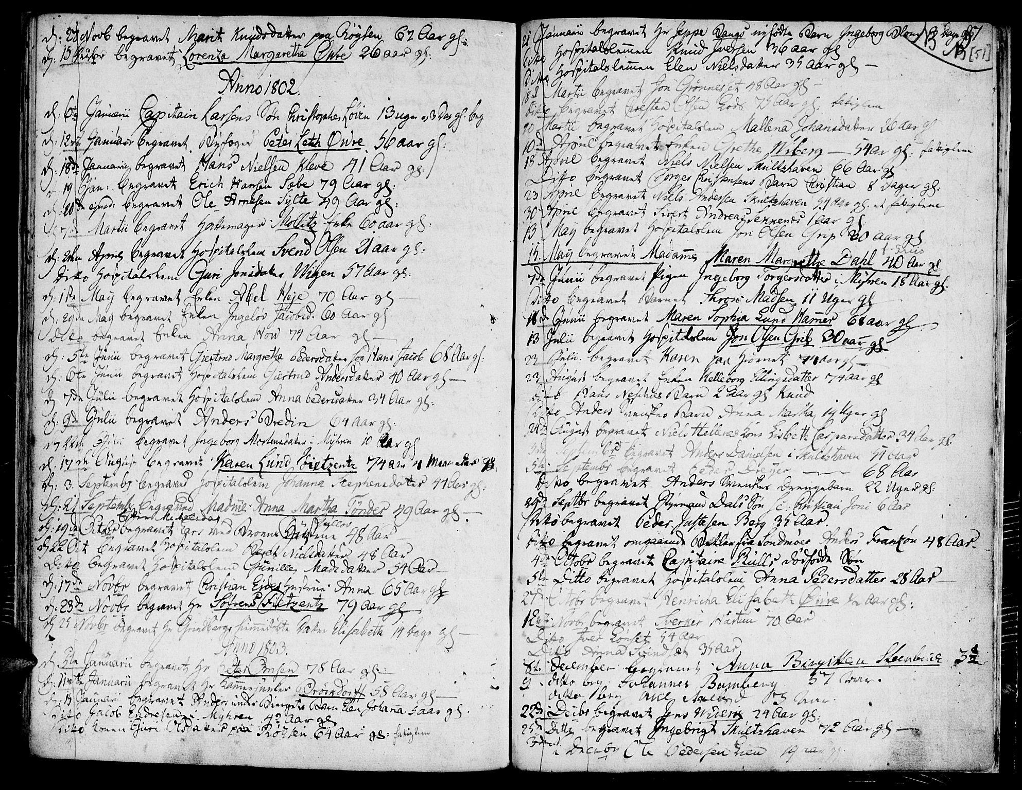 SAT, Ministerialprotokoller, klokkerbøker og fødselsregistre - Møre og Romsdal, 558/L0687: Ministerialbok nr. 558A01, 1798-1818, s. 51