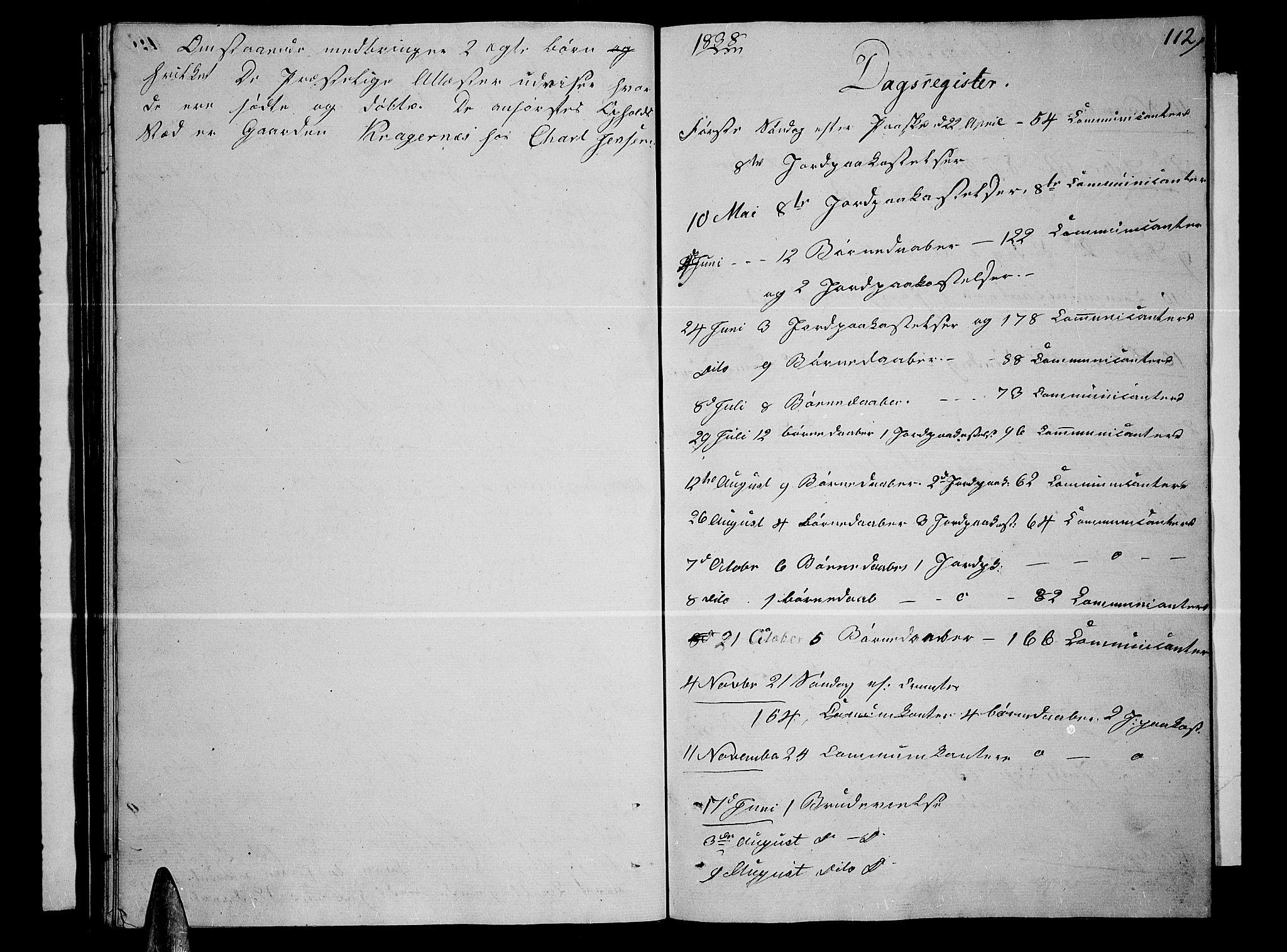 SATØ, Lenvik sokneprestembete, H/Ha: Klokkerbok nr. 2, 1838-1843, s. 112