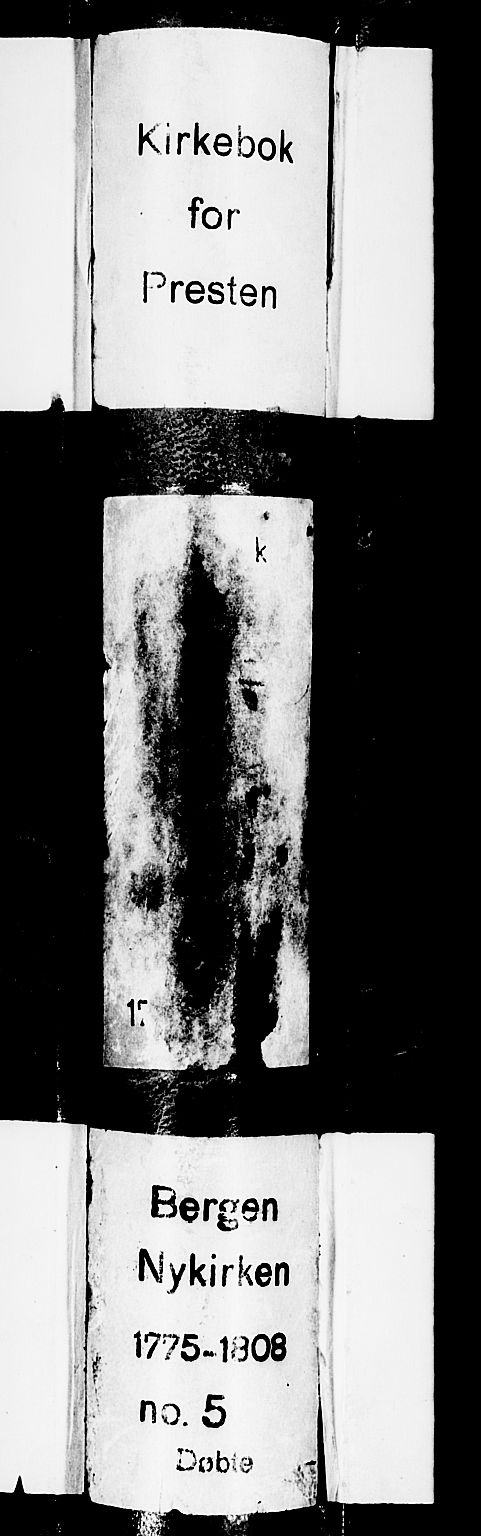SAB, Nykirken Sokneprestembete, H/Haa: Ministerialbok nr. A 5, 1775-1808