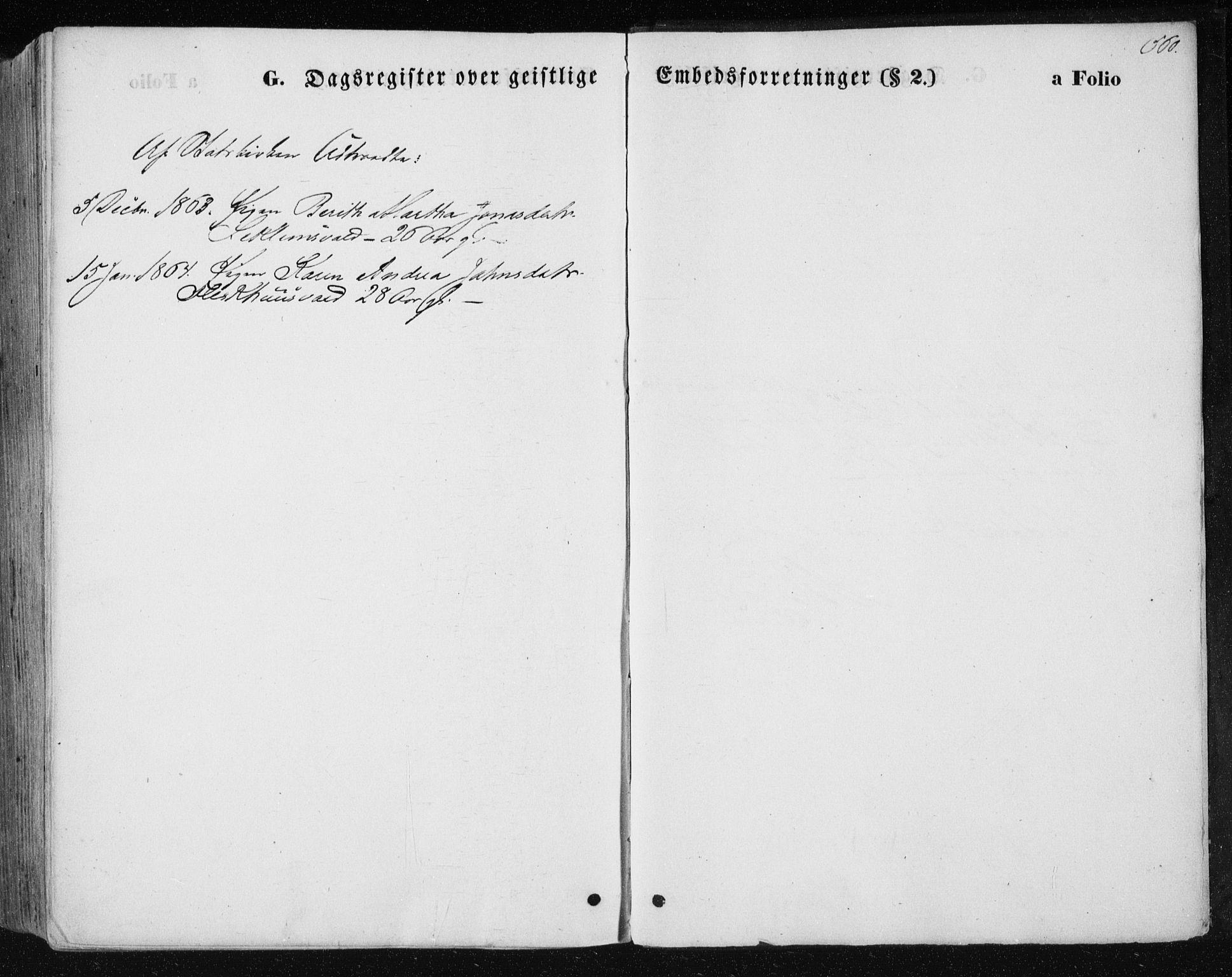 SAT, Ministerialprotokoller, klokkerbøker og fødselsregistre - Nord-Trøndelag, 723/L0241: Ministerialbok nr. 723A10, 1860-1869, s. 560
