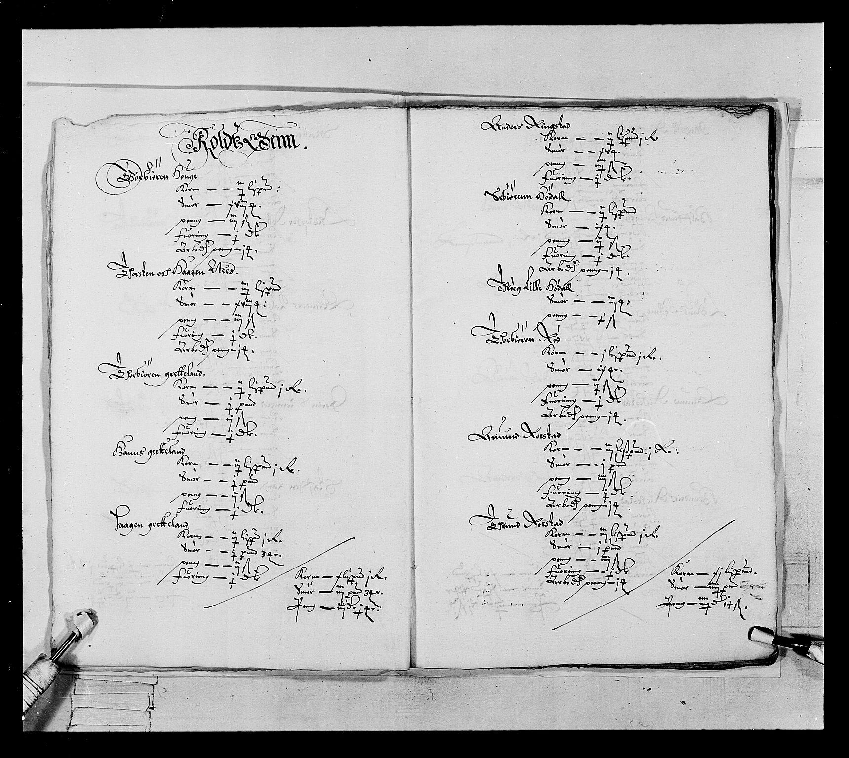 RA, Stattholderembetet 1572-1771, Ek/L0022: Jordebøker 1633-1658:, 1646-1647, s. 11