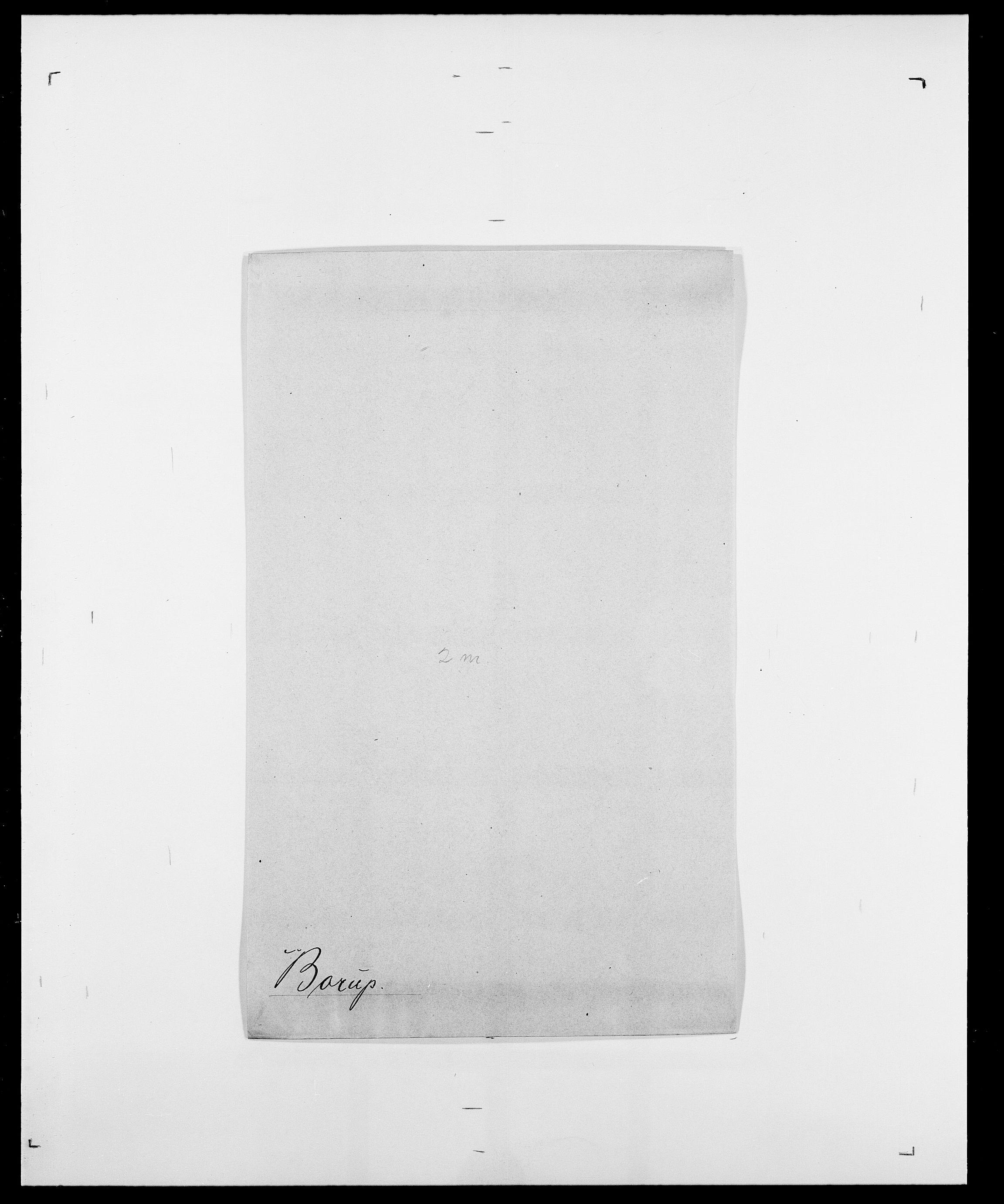 SAO, Delgobe, Charles Antoine - samling, D/Da/L0005: Boalth - Brahm, s. 327